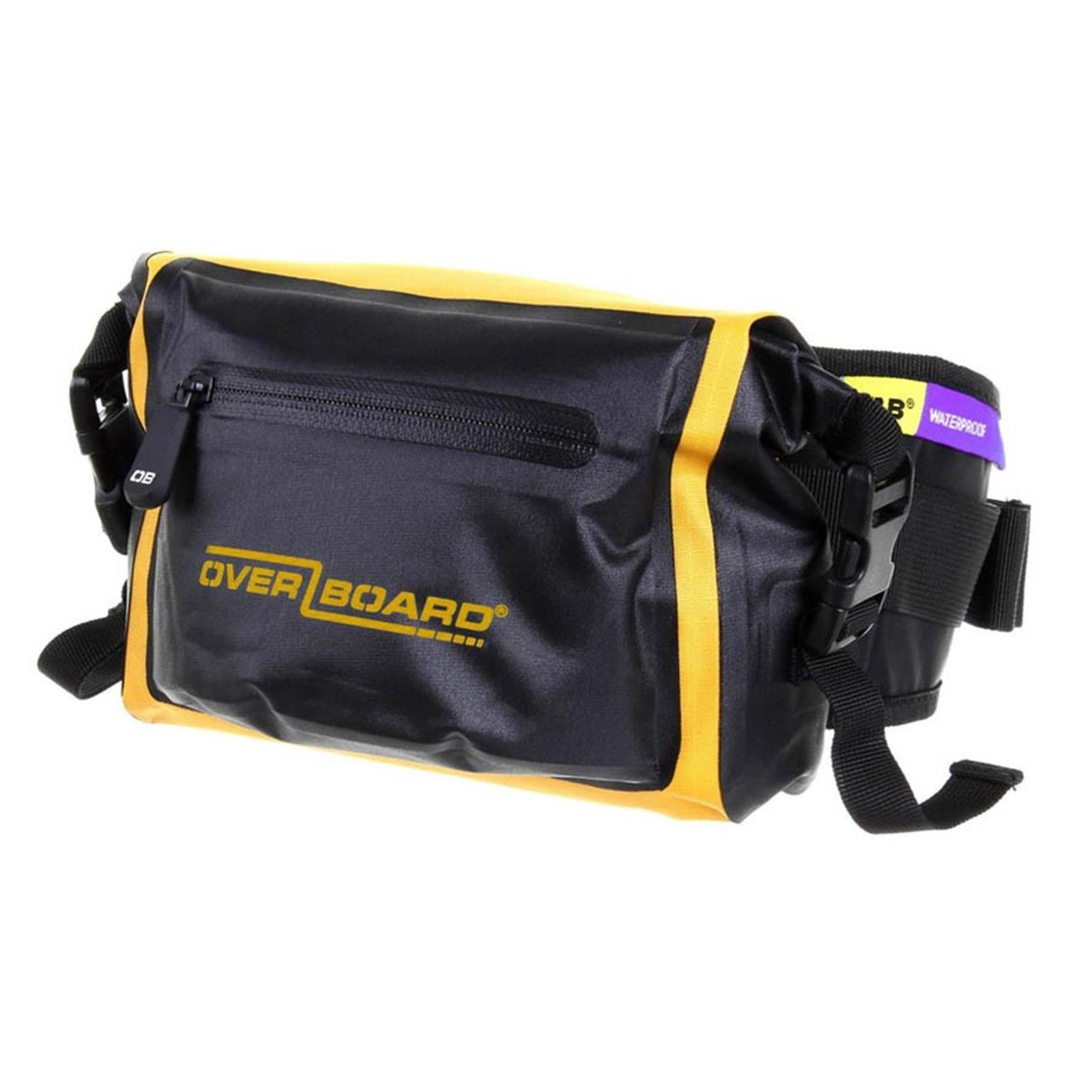 OverBoard wasserdichte Hüft Tasche LIGHT 2 L Gelb OB1049Y Pro-Light