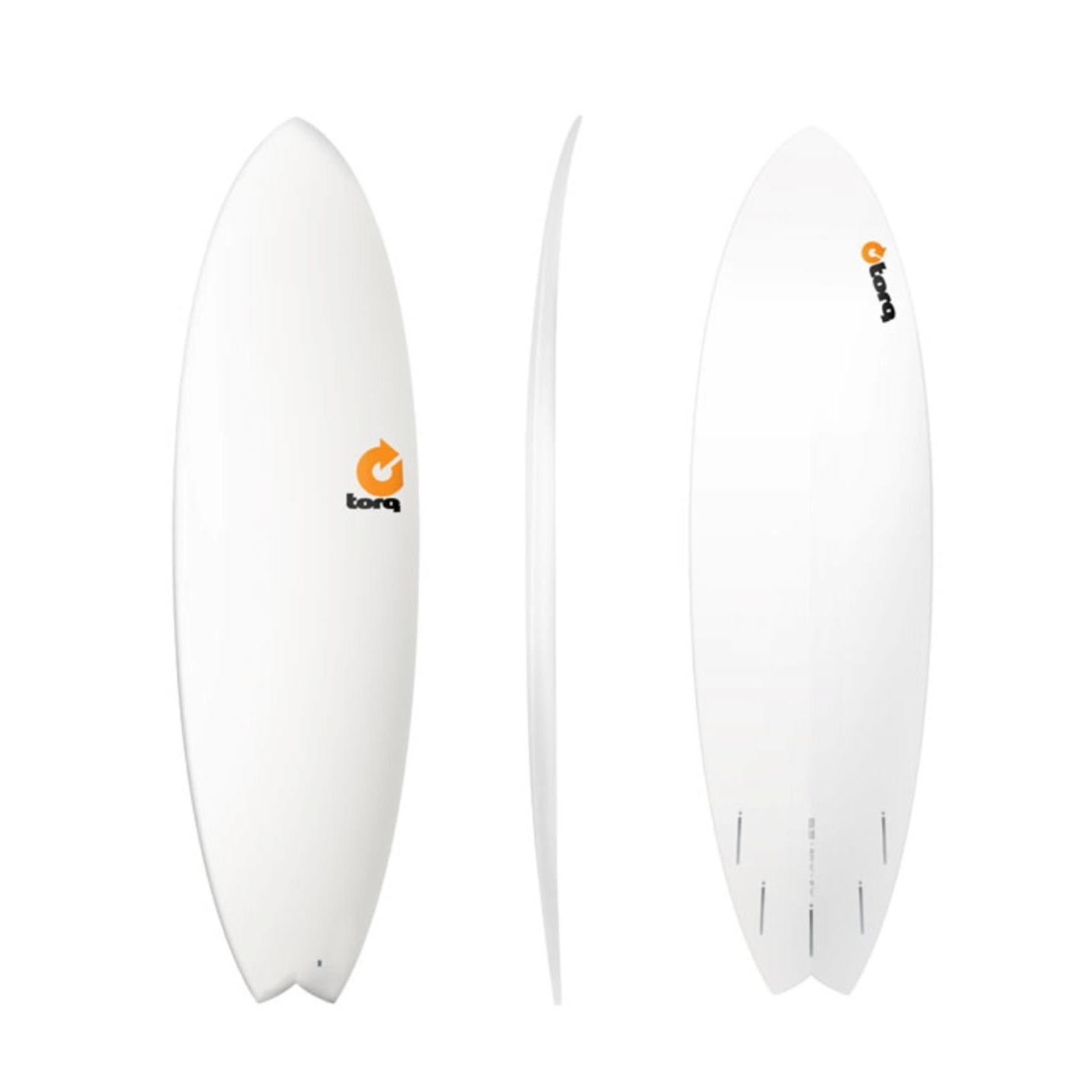 Surfboard TORQ Epoxy TET 6.3 Fish  White