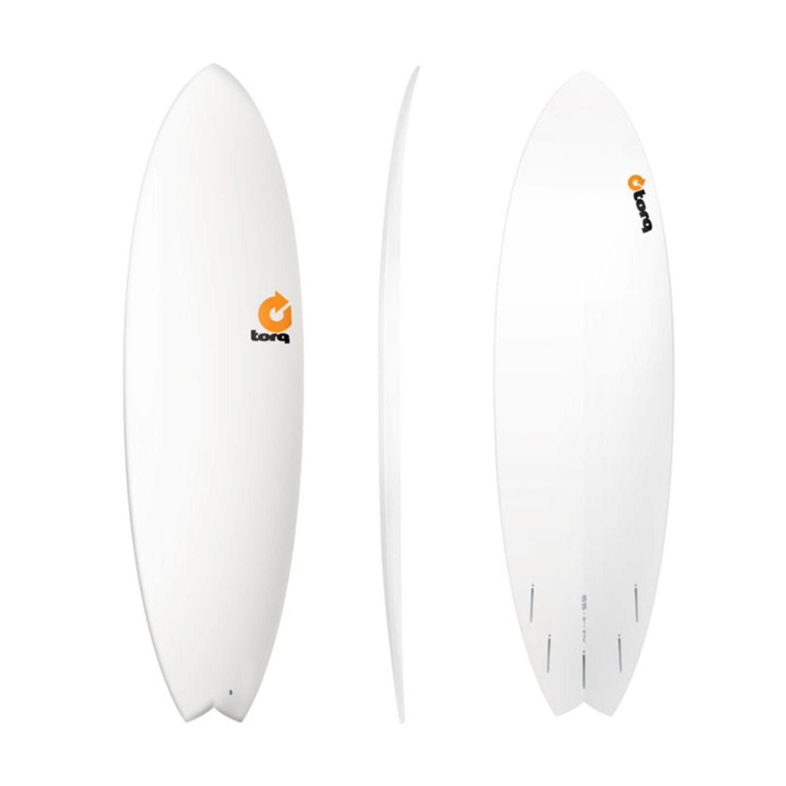 Surfboard TORQ Epoxy TET 6.6 Fish  White