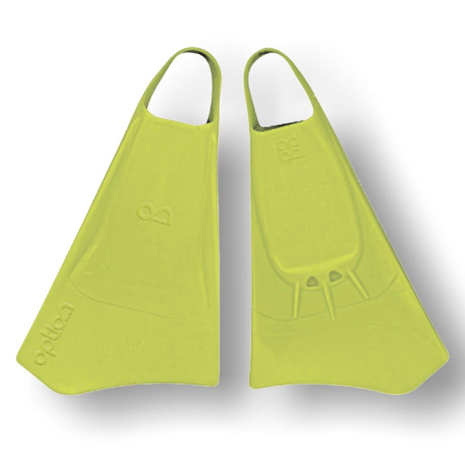 Bodyboard Flosse OPTION Gr M  40-42 Lime