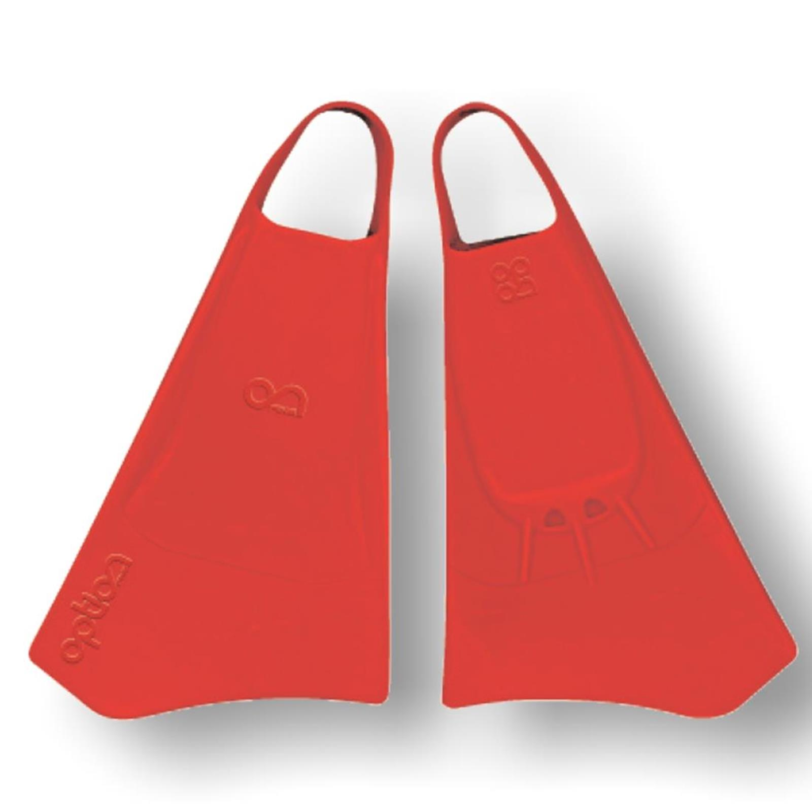 Bodyboard Flosse OPTION Gr XL  44-46 Red