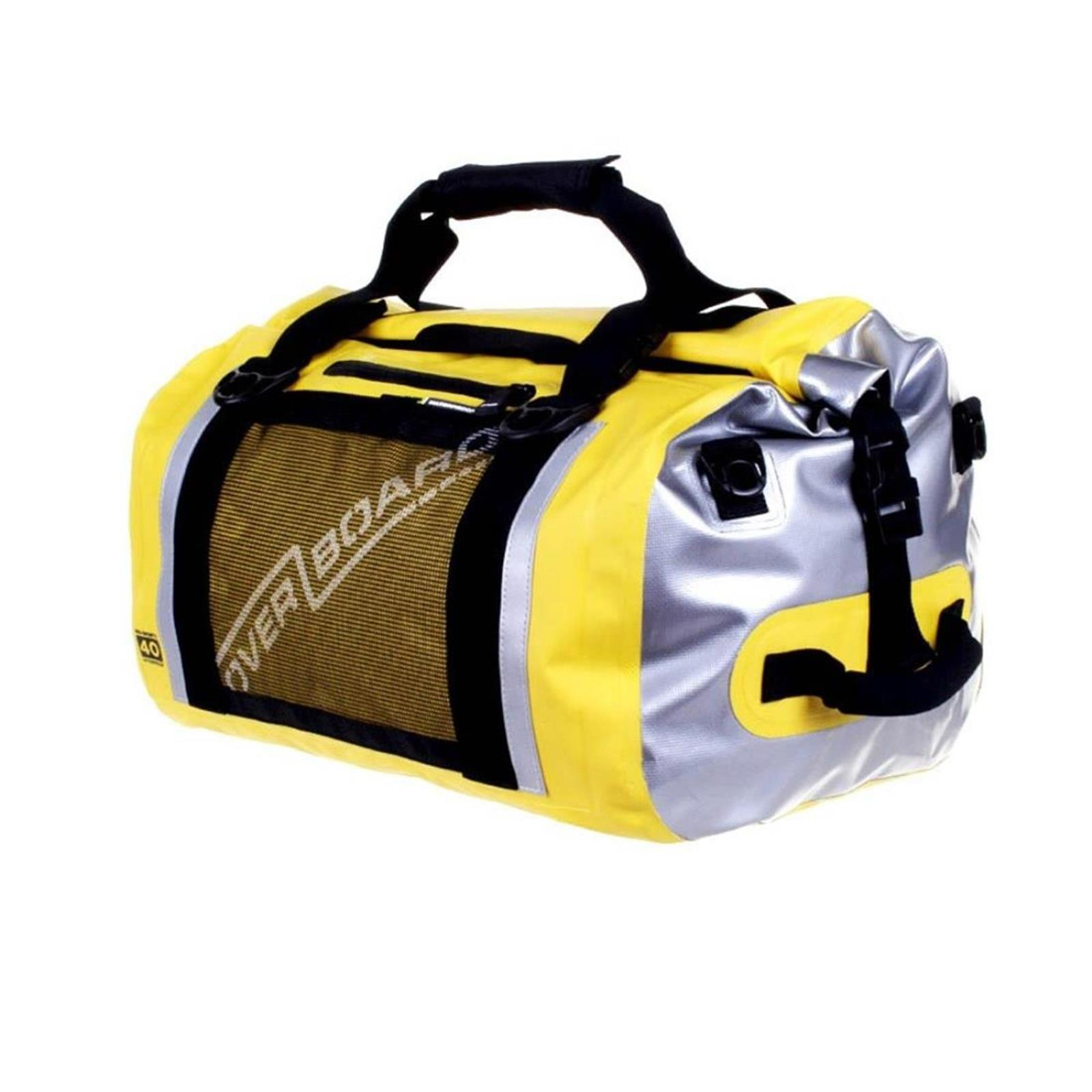 OverBoard wasserdichte Duffel Bag Sports 40 L Gelb OB1153Y Pro Sports