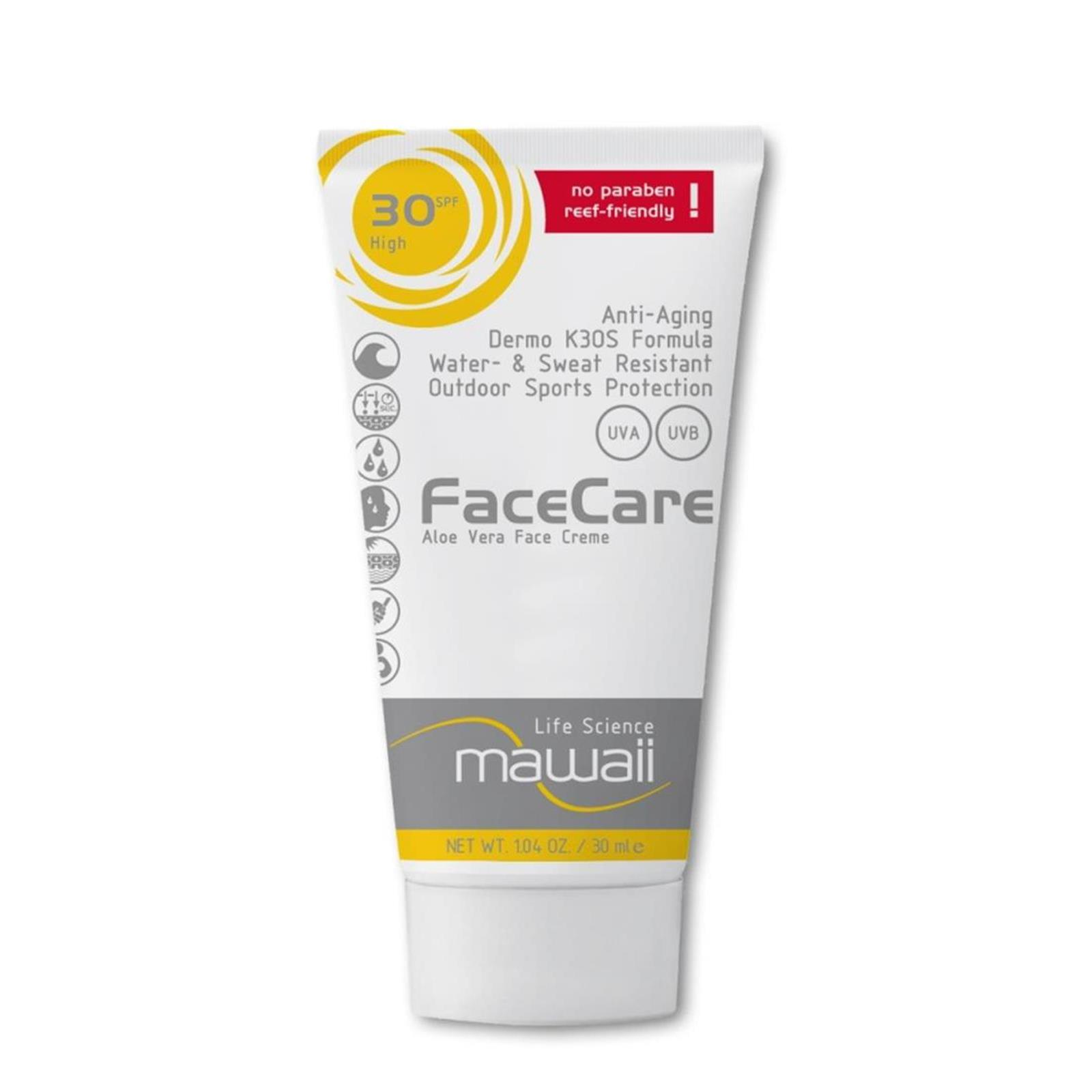 mawaii FaceCare SPF 30  K3OS Formula 30ml