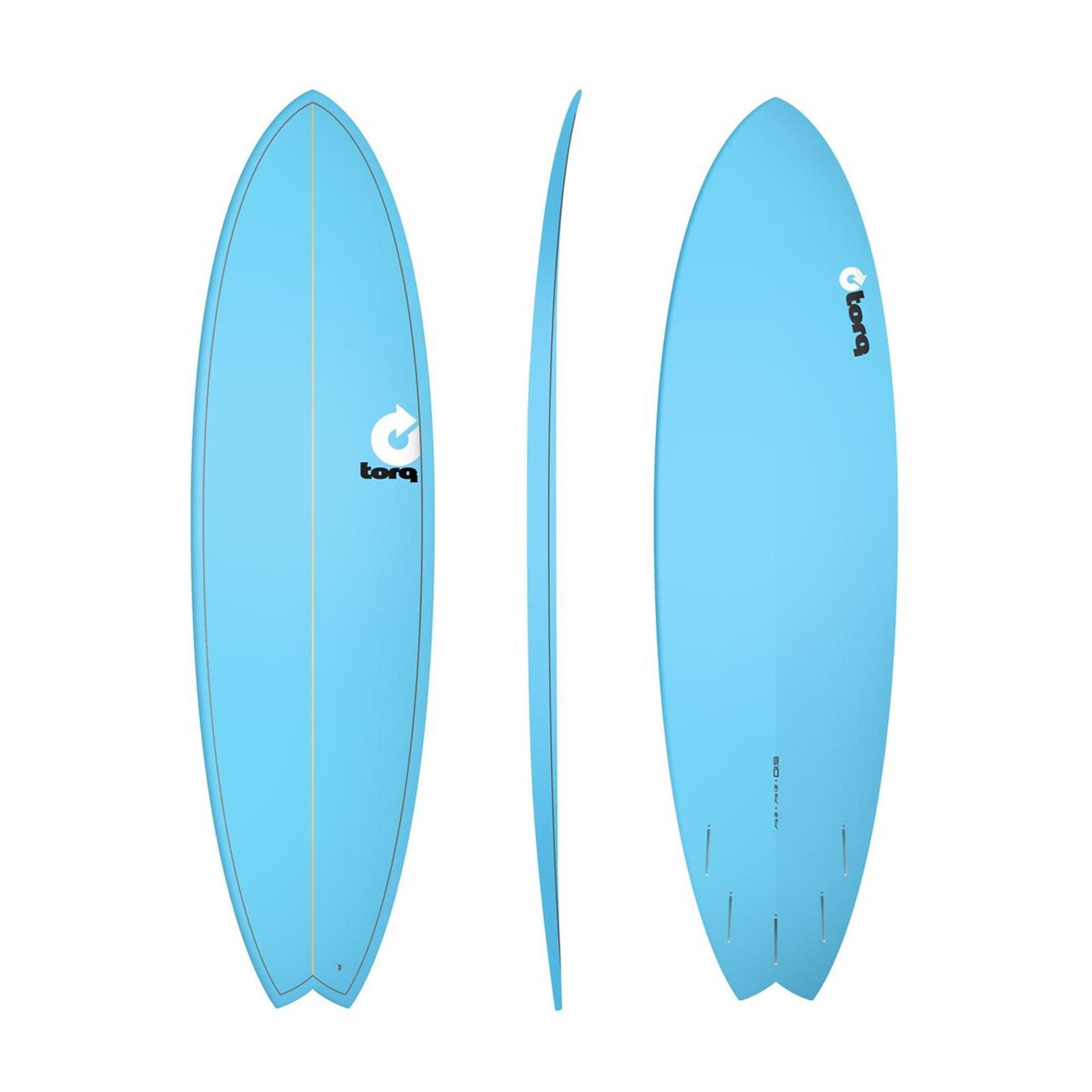 Surfboard TORQ Epoxy TET 6.10 Fish Blue