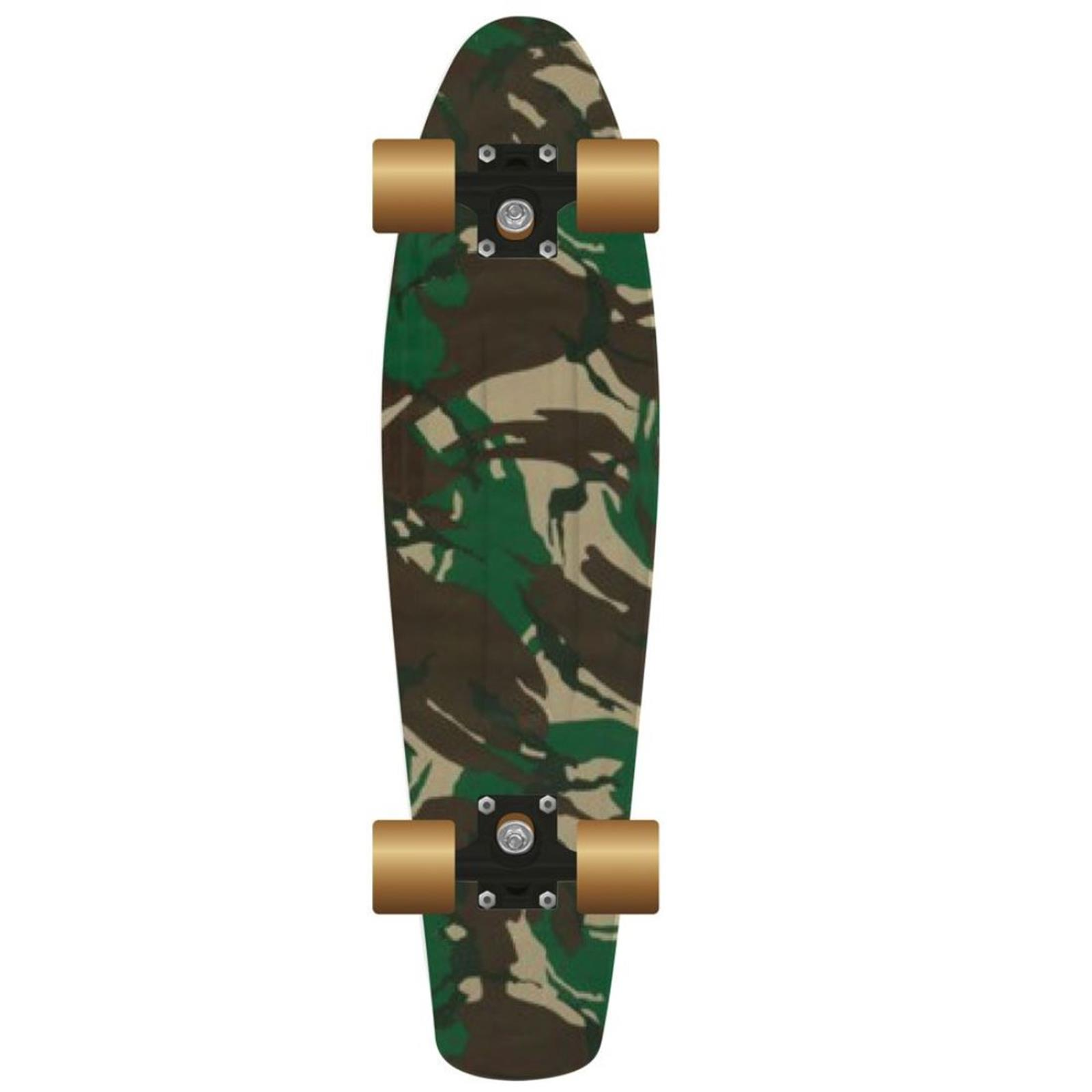 PROHIBITION Retro Plastic Skateboard 22.5 Street C
