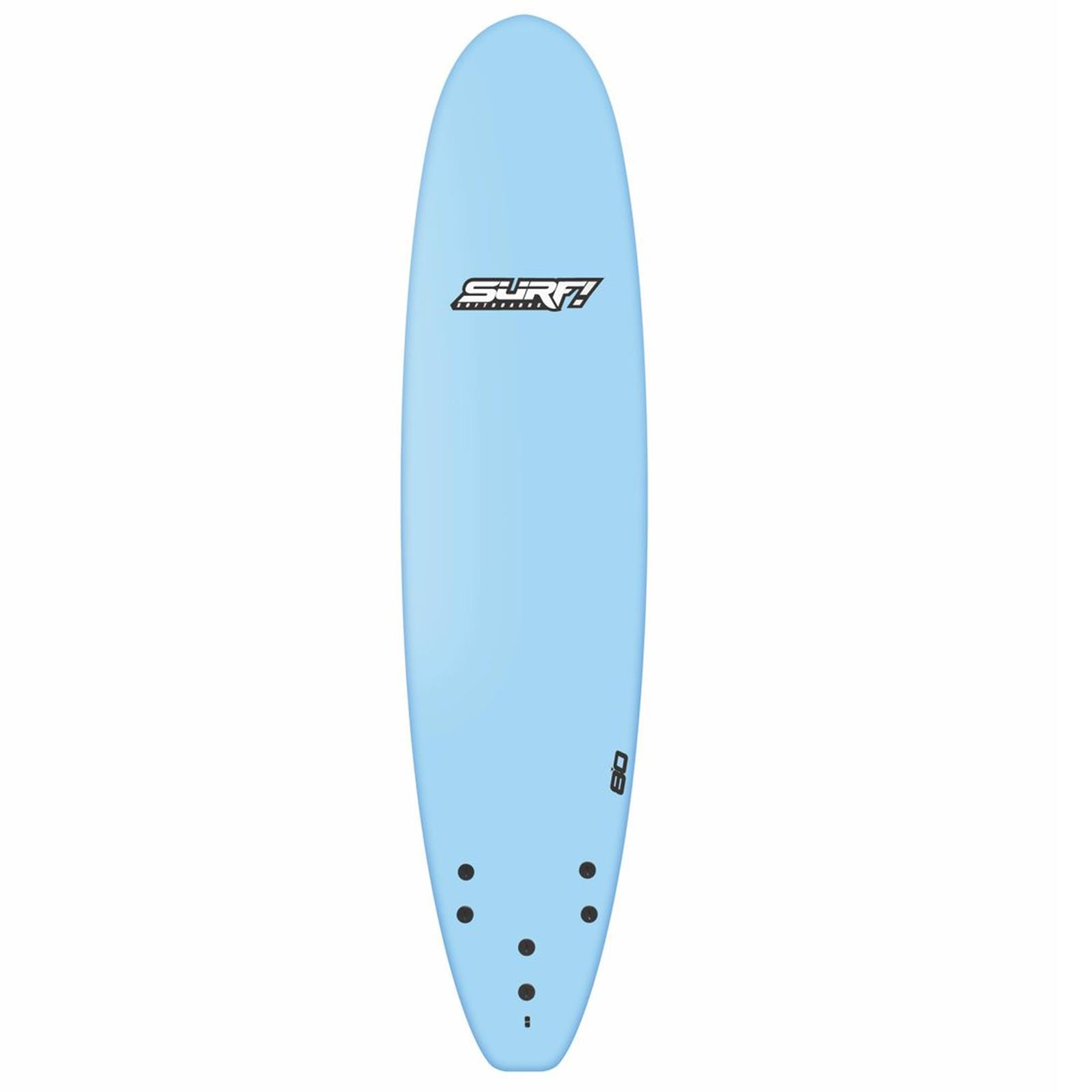 Surfboard BUGZ SURF! Softboard 8.0 Mini Malibu