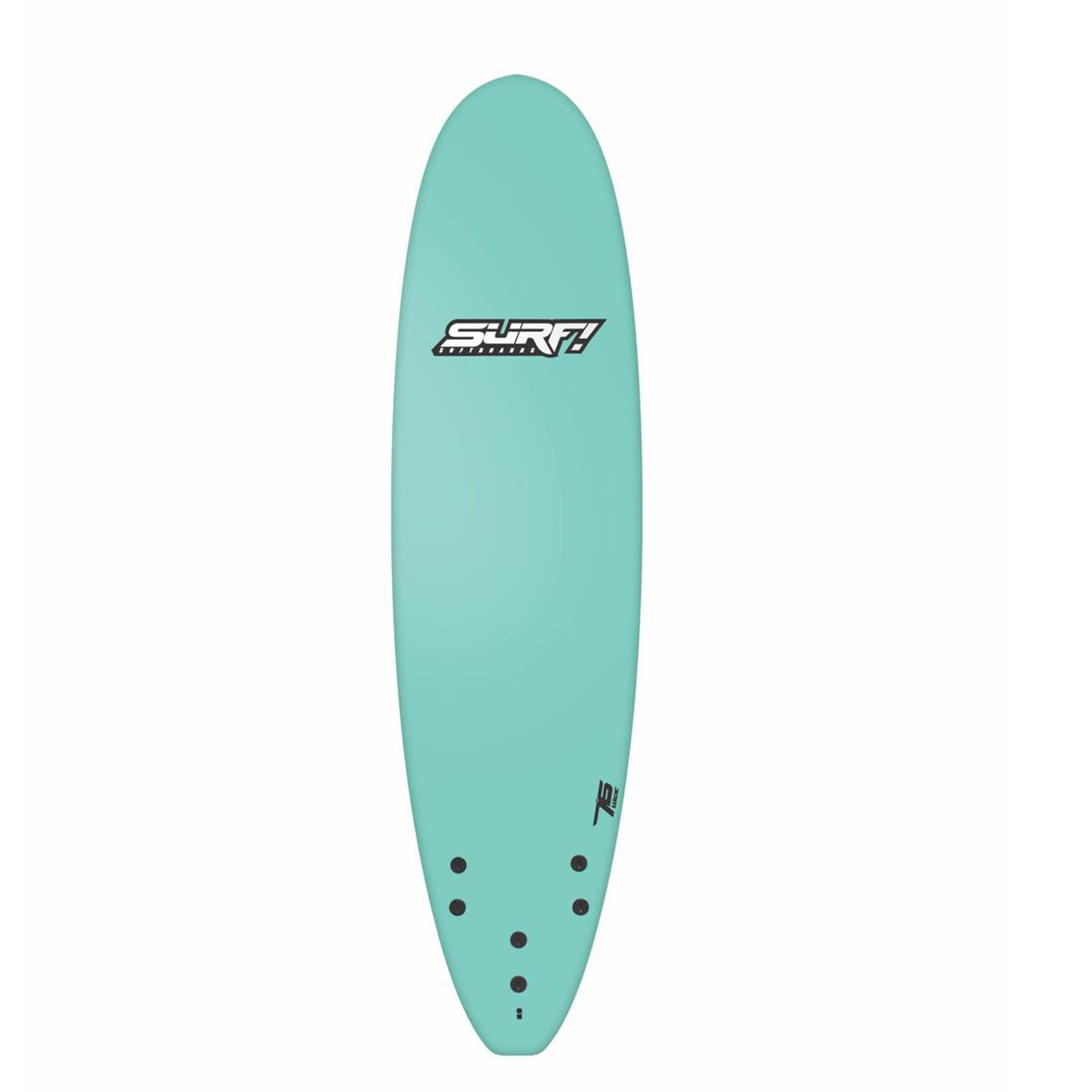 Surfboard BUGZ SURF! Softboard 7.6 Wide Body