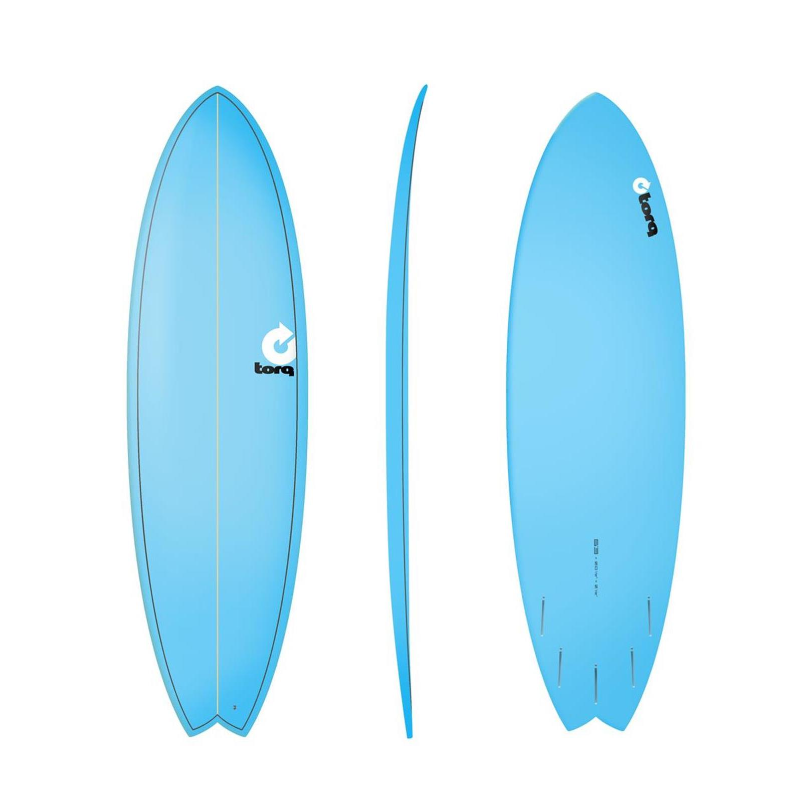 Surfboard TORQ Epoxy TET 6.3 Fish  Blue