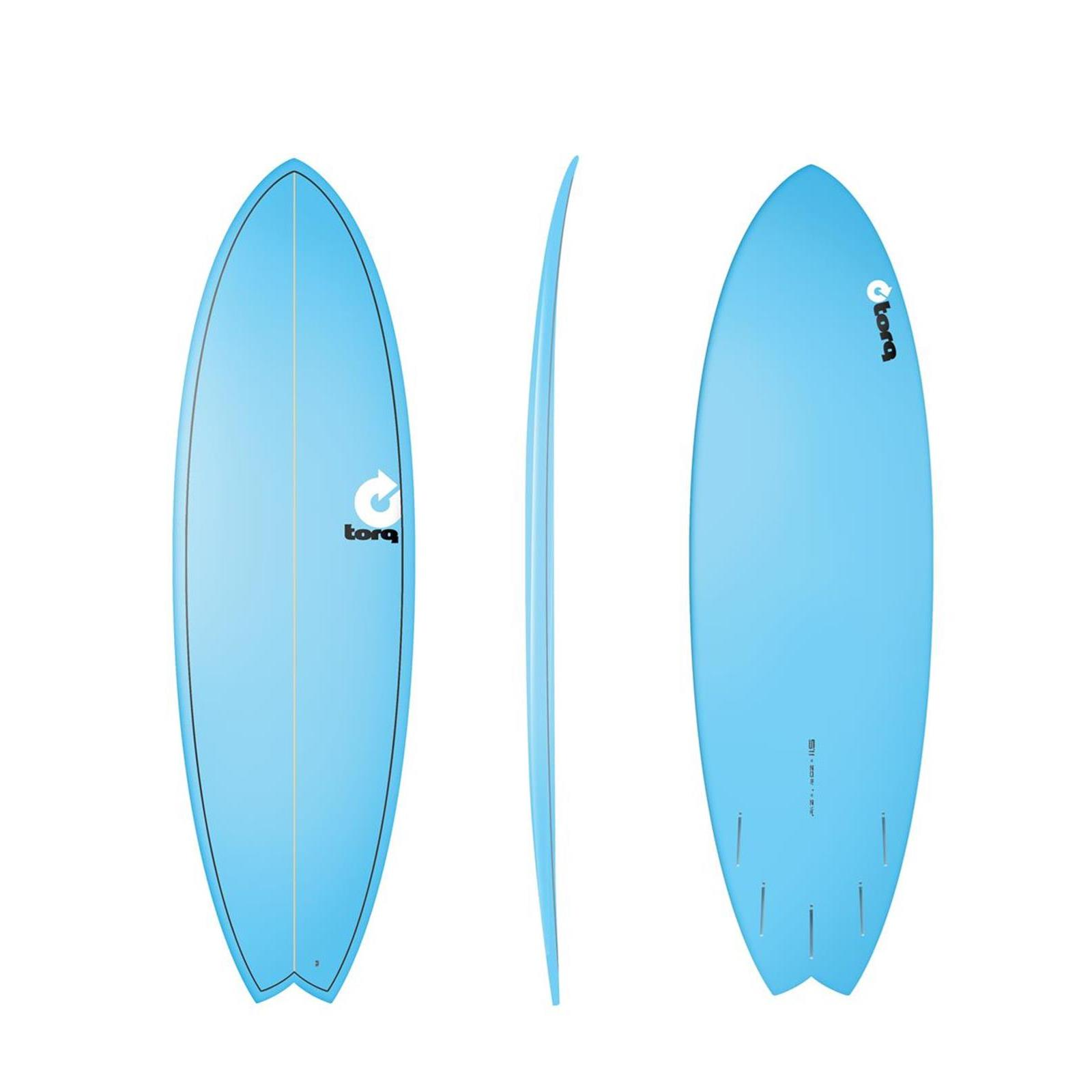 Surfboard TORQ Epoxy TET 5.11 Fish Blue