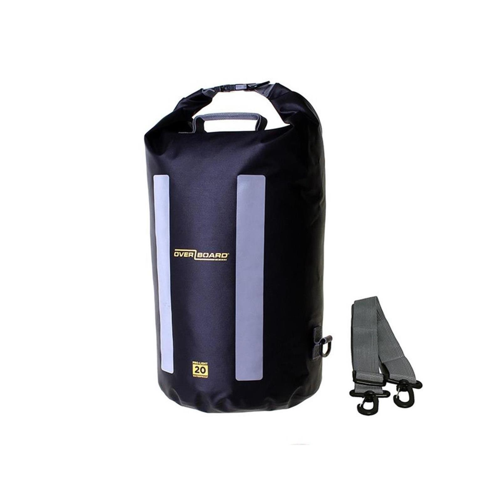 OverBoard wasserdichter Packsack LIGHT 20 L Schw OB1162BLK Pro-Light