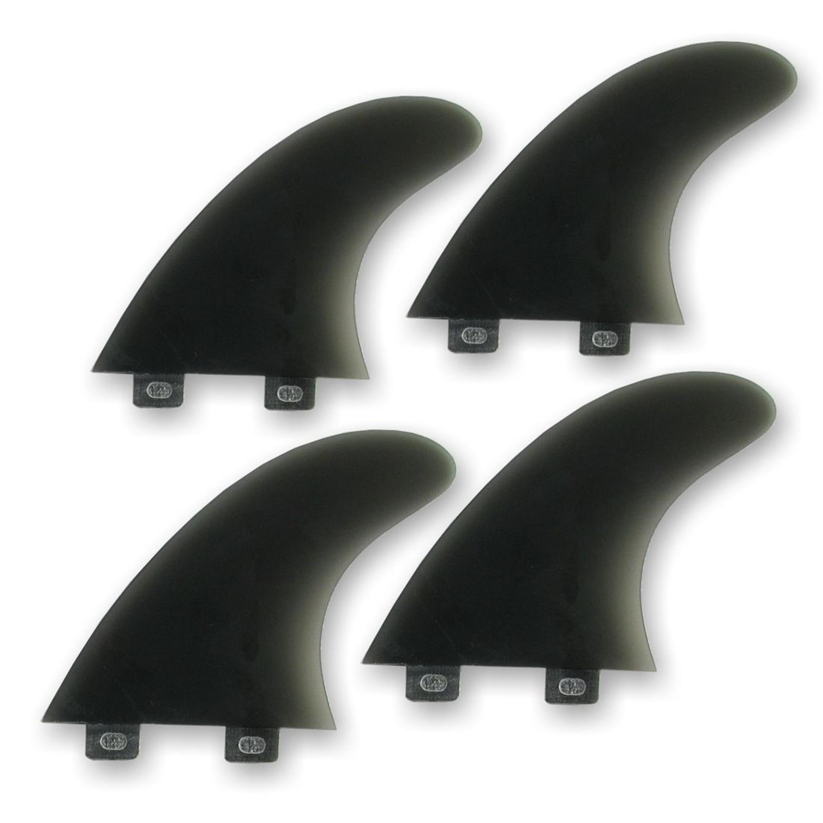 Surfboard Finnen NITROUS Quad Fin Set FCS base