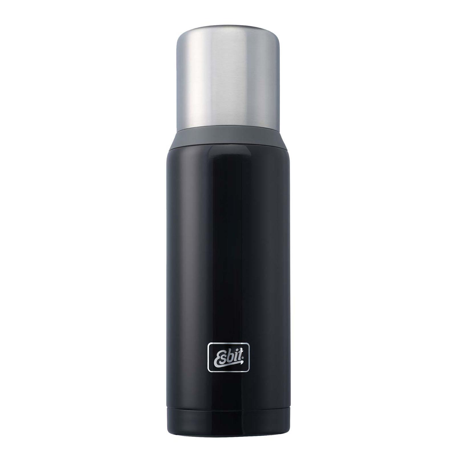 Esbit Stainless Steel Vacuum Flask 1 Litres Black