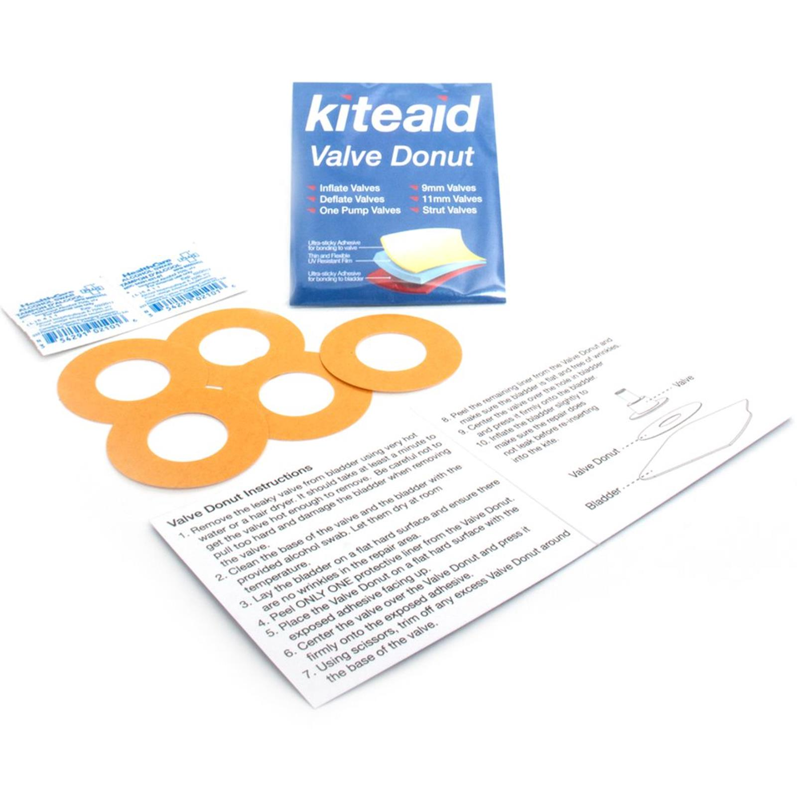 KiteAid Reparatur Kite Ventil Donut Repair Kit