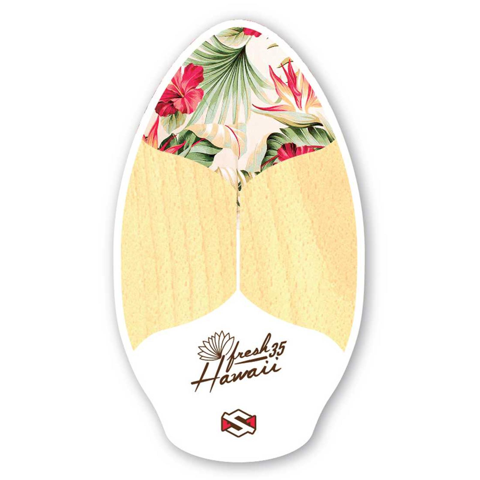 Skimboard SkimOne 35  90cm Fresh Hawaii White