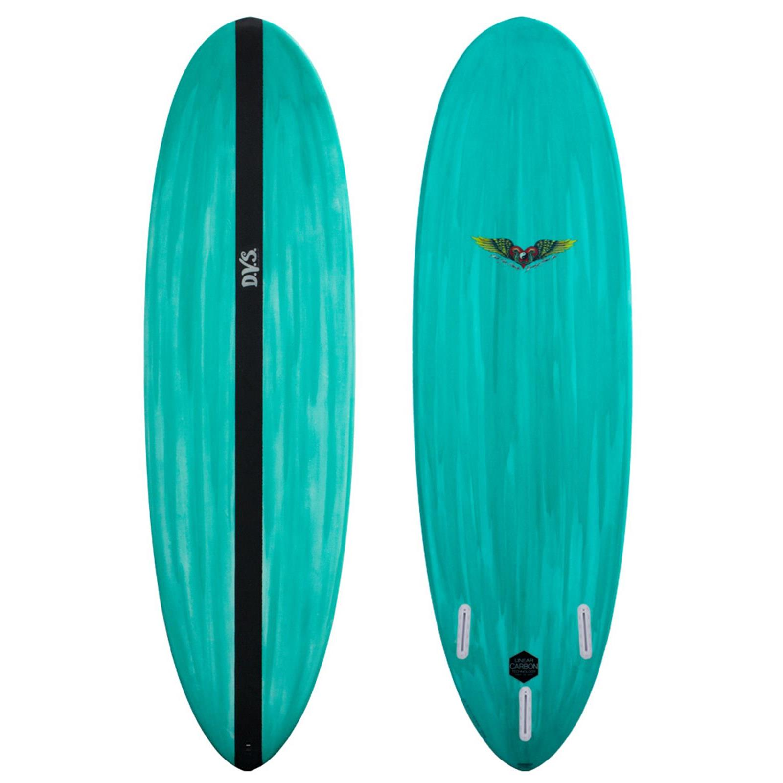 Surfboard DVS - Micro 5.8 LCT Futures