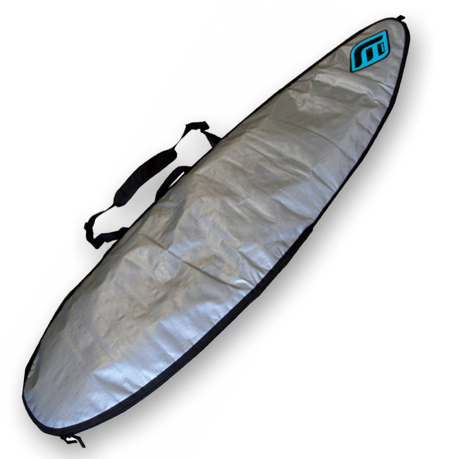 MADNESS Boardbag PE Silver 6.4 Shortboard Daybag