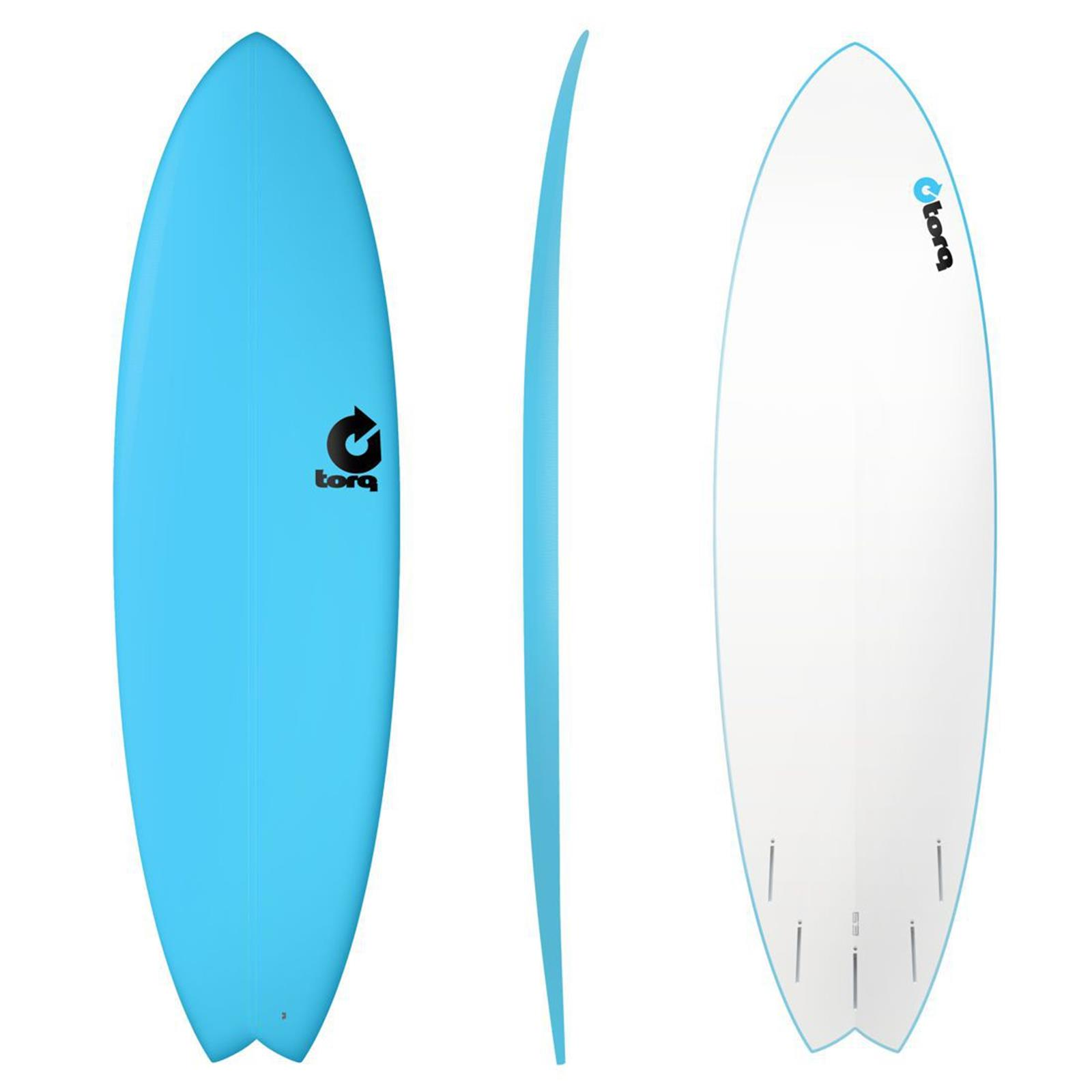 Surfboard TORQ Softboard 7.2 Fish Blue