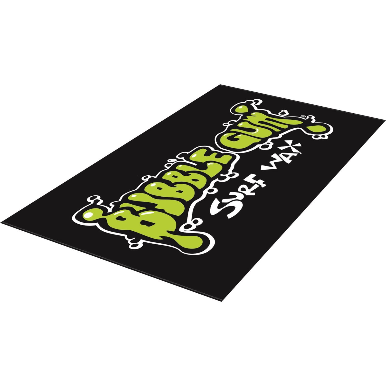 BUBBLE GUM Strandhandtuch Surf Lime beach towel