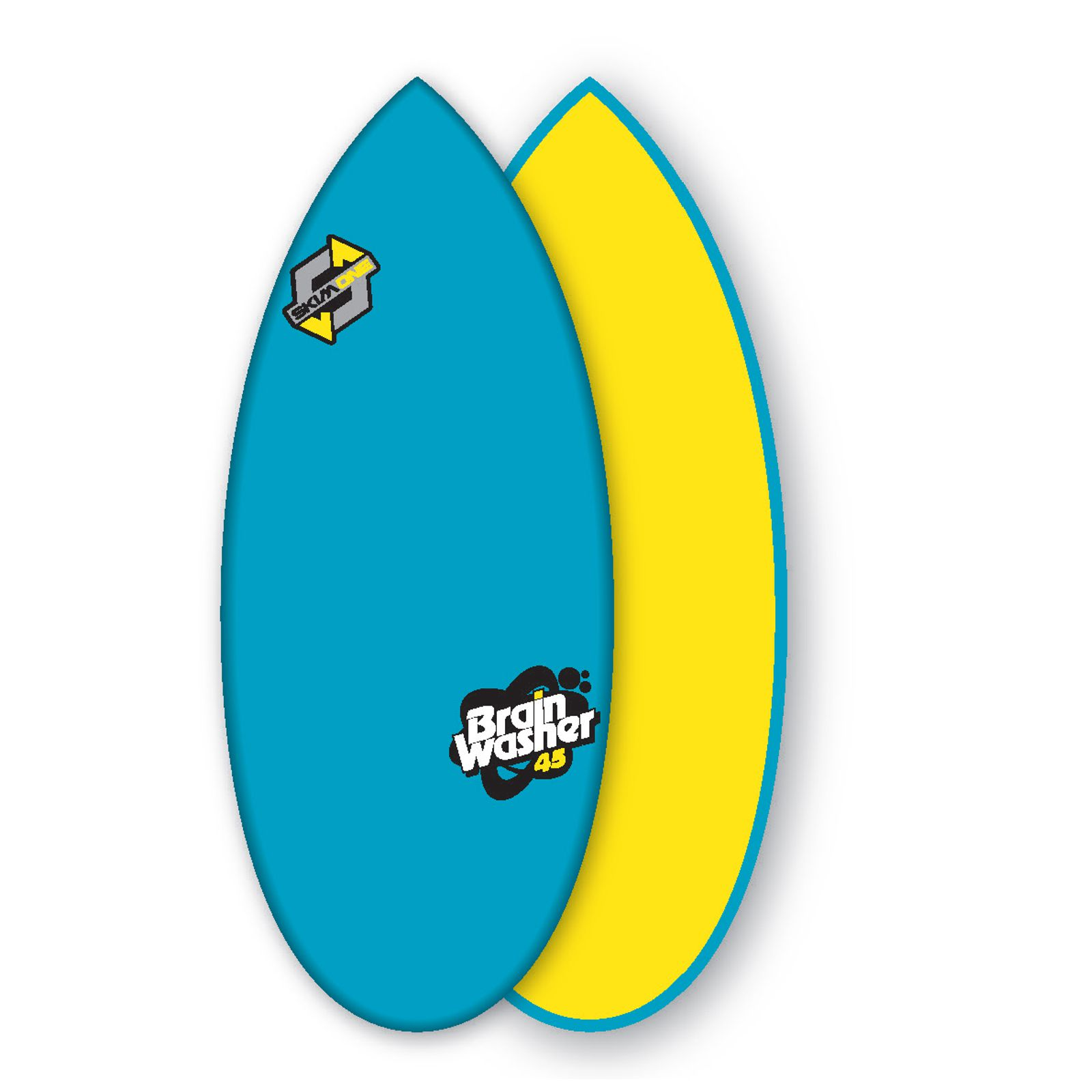 Skimboard SkimOne EPS Epoxy Bambus 45 Brain Washer