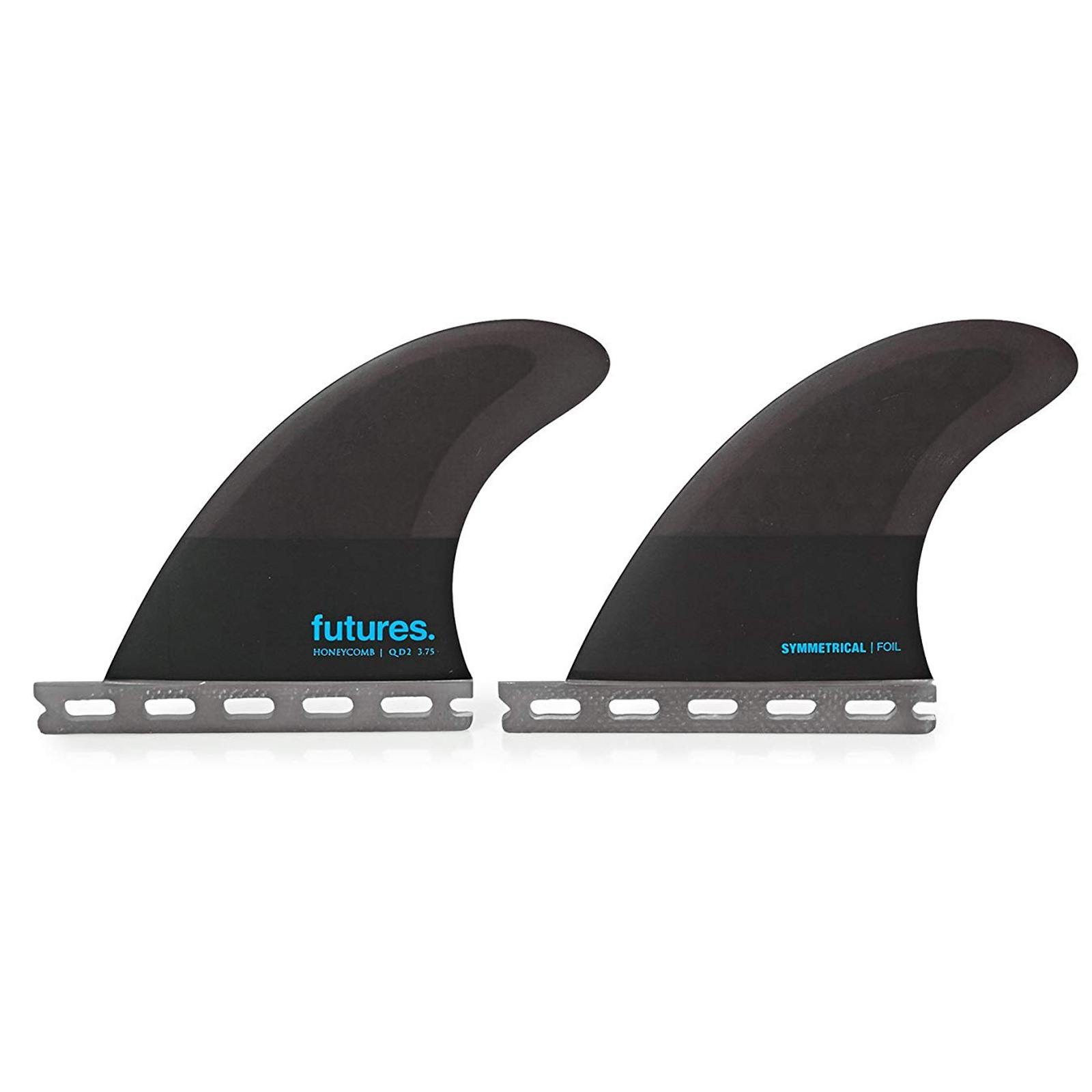 FUTURES Quad 2 Fin Set 3.75 Sym Honeycomb