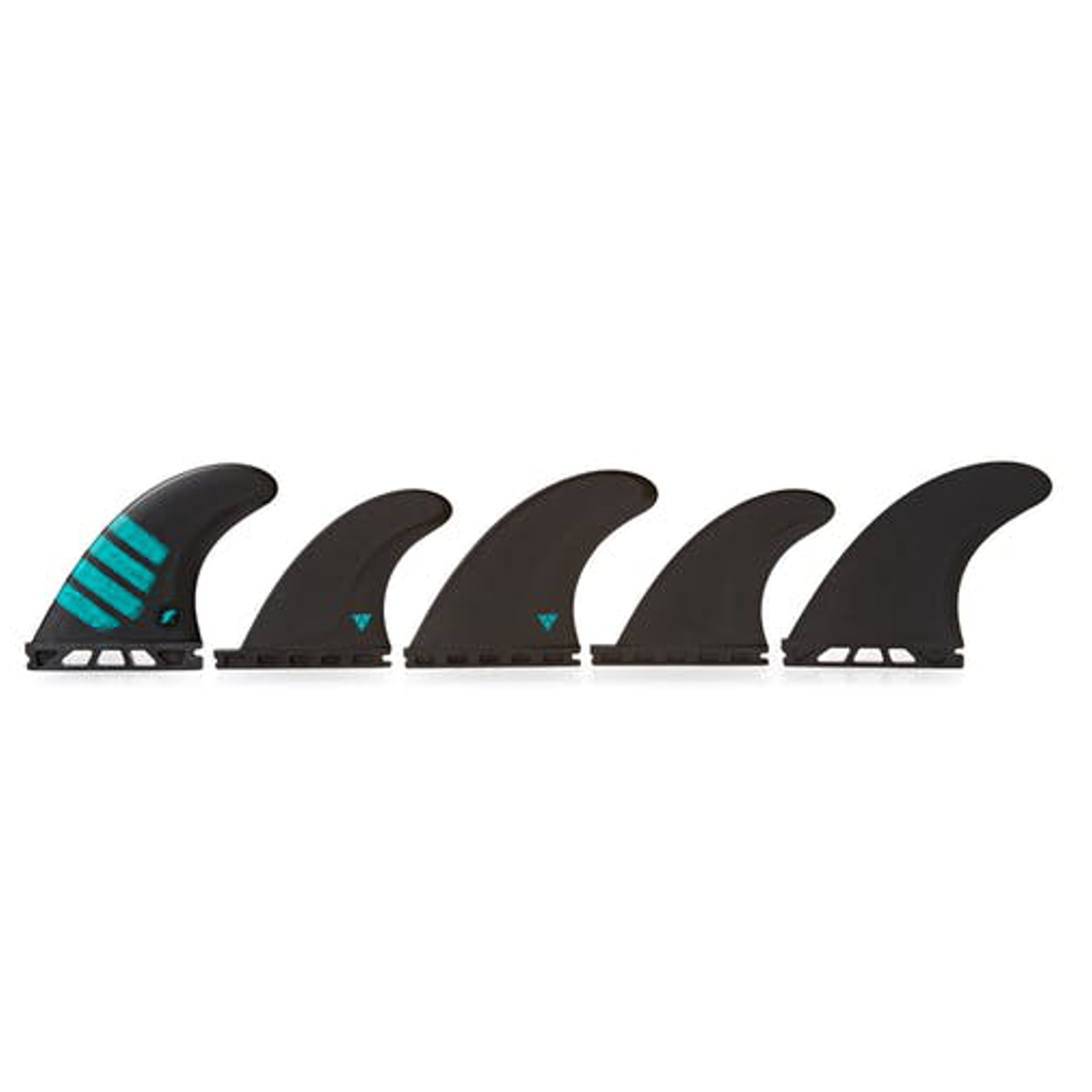 FUTURES Quad Thruster 5 Fin Set F8 Alpha