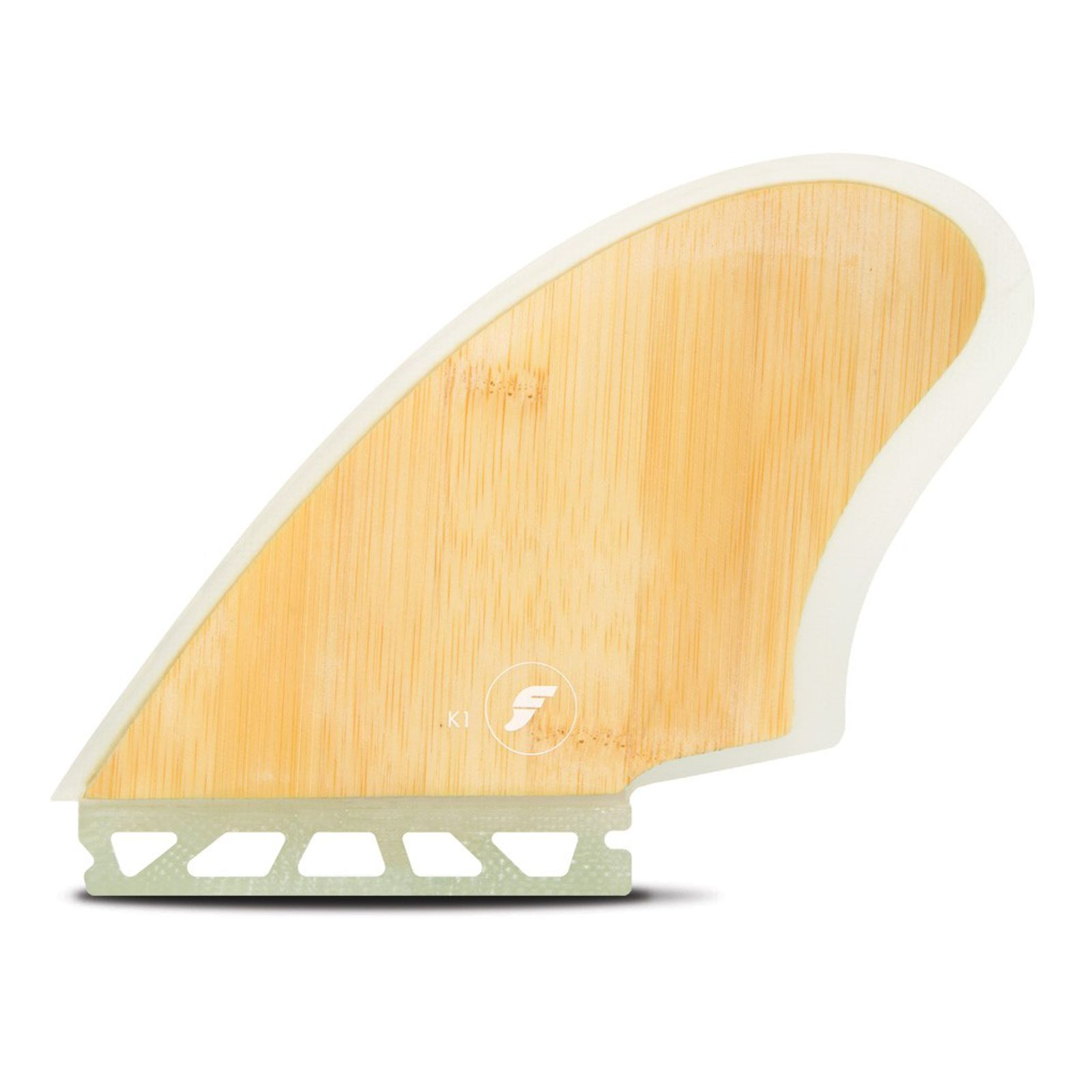 FUTURES Twin Fin Set K1 Keel Honeycomb Bamboo