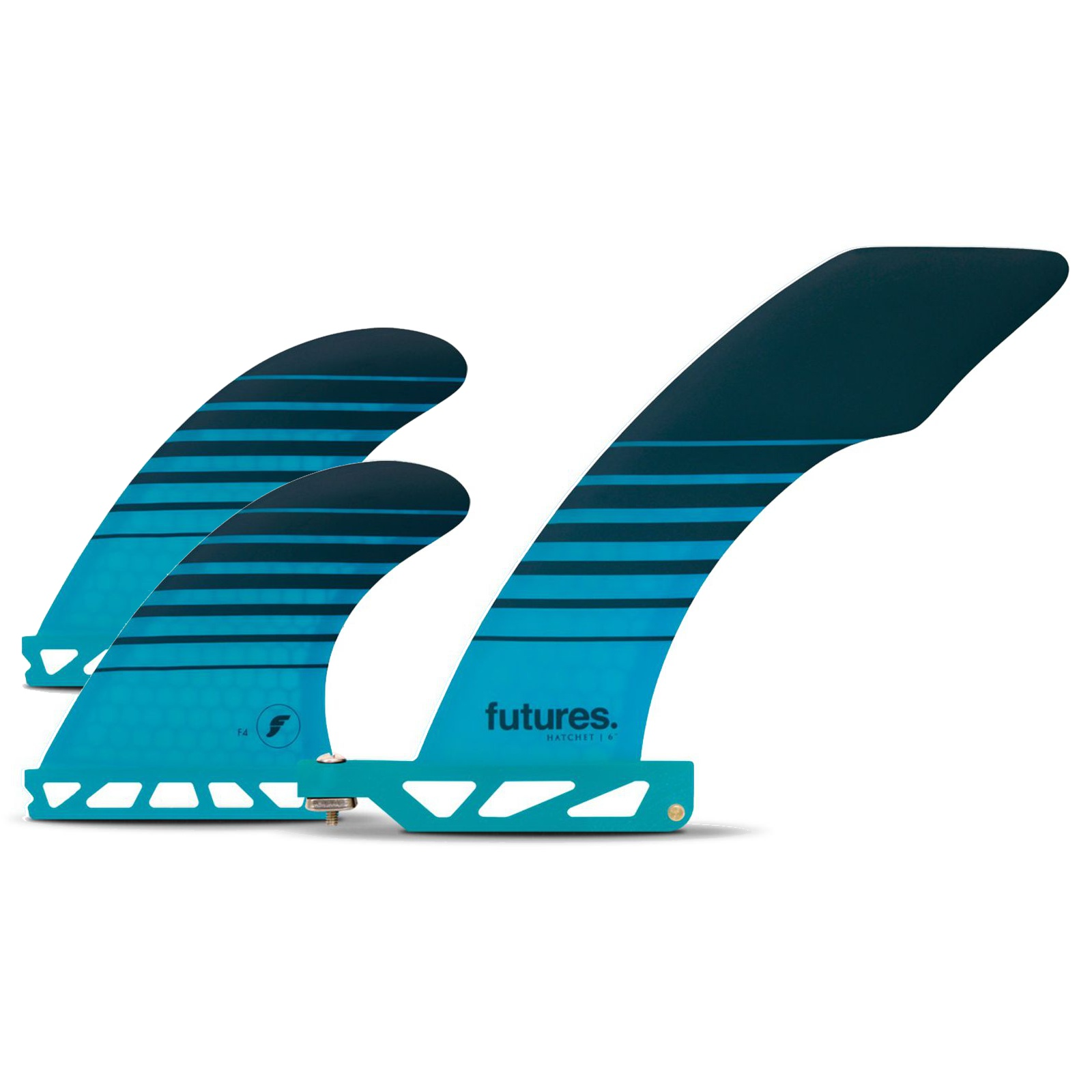 FUTURES 2+1 Fin Set Solus Hatchet Honeycomb