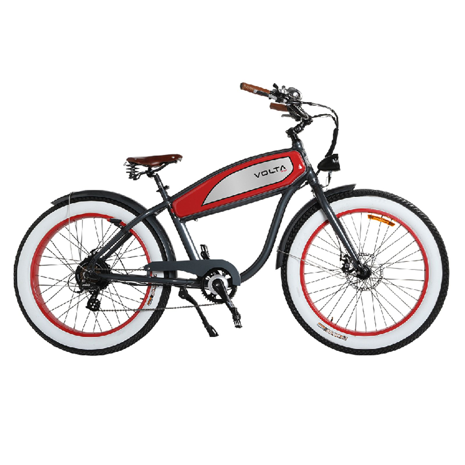 VOLTAWAY e-bike CYCLONE Retro Fatbike Beachbike