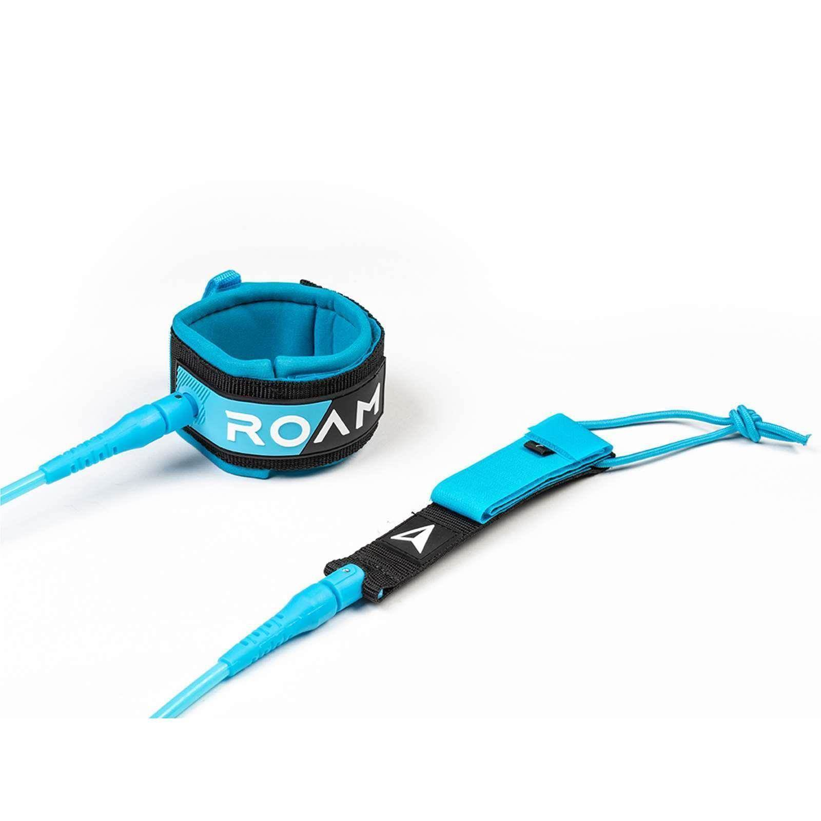 ROAM Surfboard Leash Premium 6.0 183cm 7mm Blau