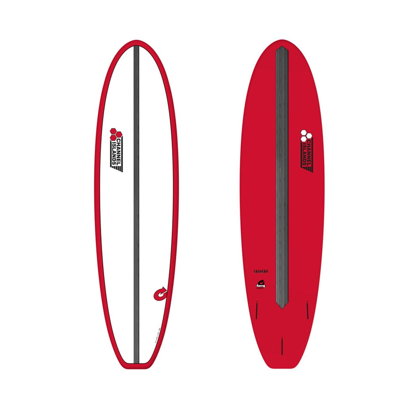 Surfboard CHANNEL ISLANDS X-lite Chancho 7.6 Red