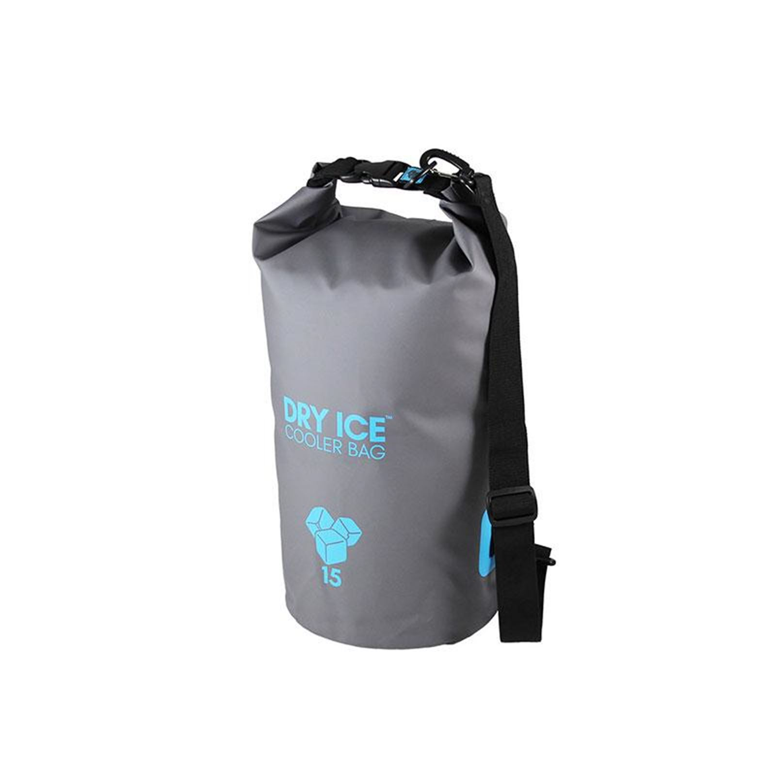 Dry Ice Cooler Bag 15 Lit - Gray