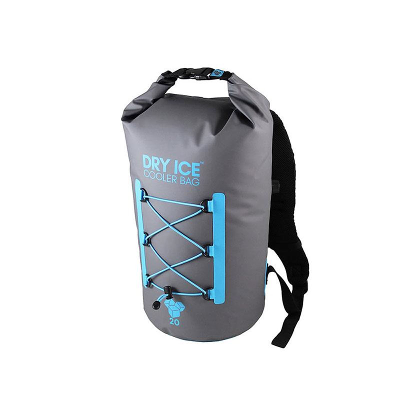 Dry Ice Premium Cooler Backpack 20 Lit - Gray