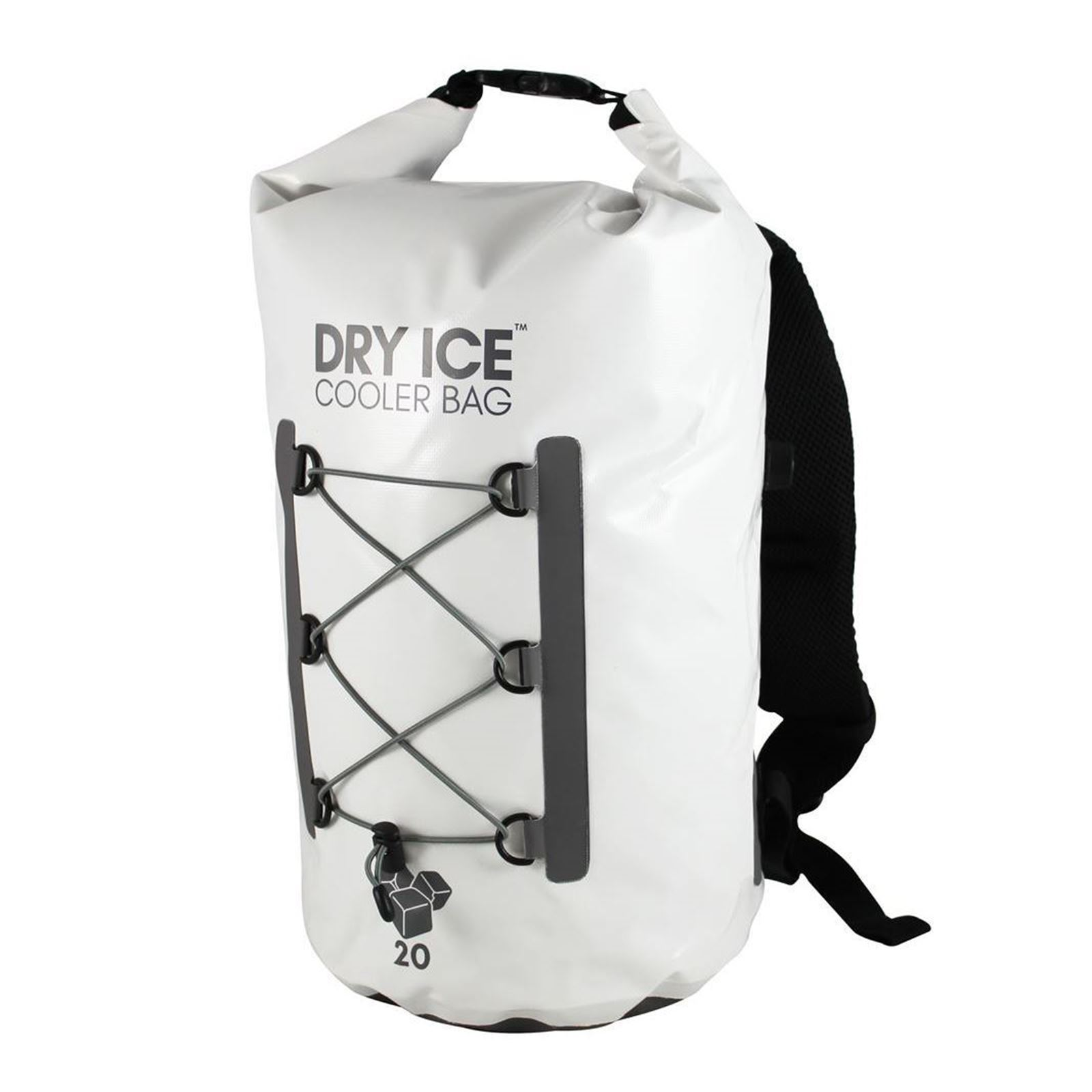 Dry Ice Premium Cooler Backpack 20 Lit - White