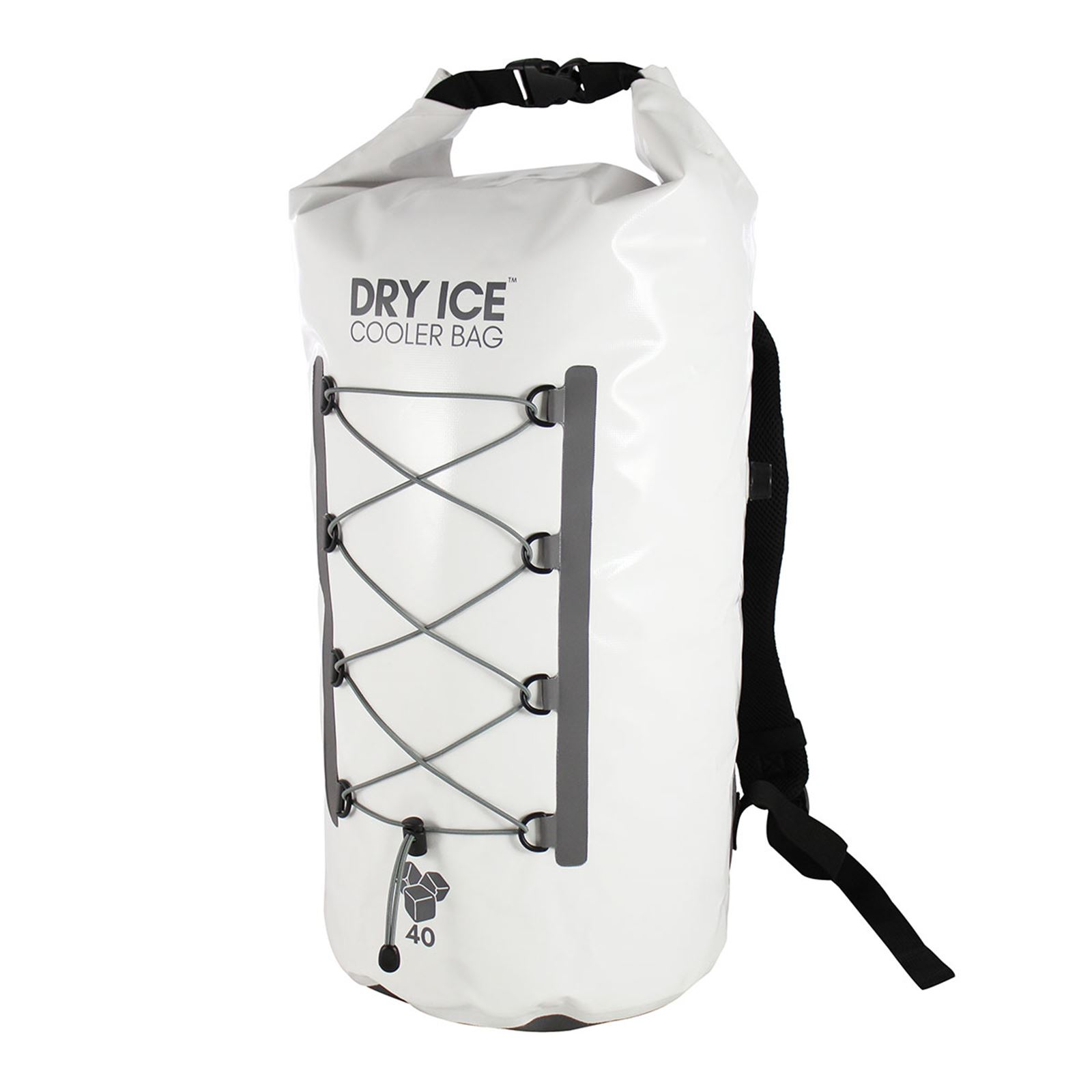 Dry Ice Premium Cooler Backpack 40 Lit - White