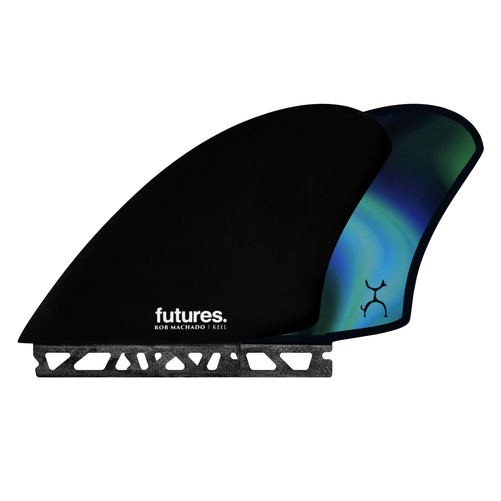 FUTURES Twin Fin Set Machado Keel Honeycomb