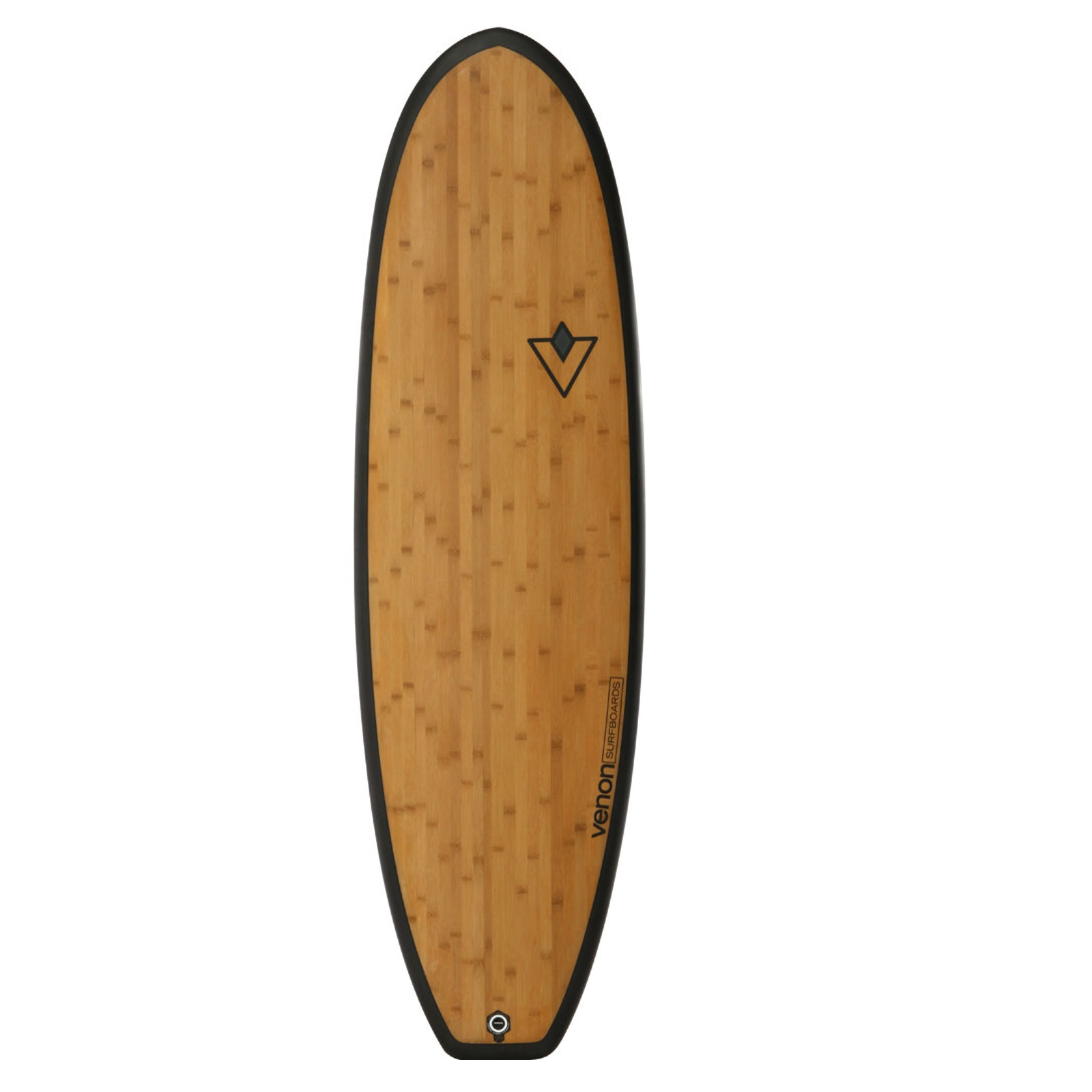 Surfboard VENON Fat Pickle 6.4 Bambus
