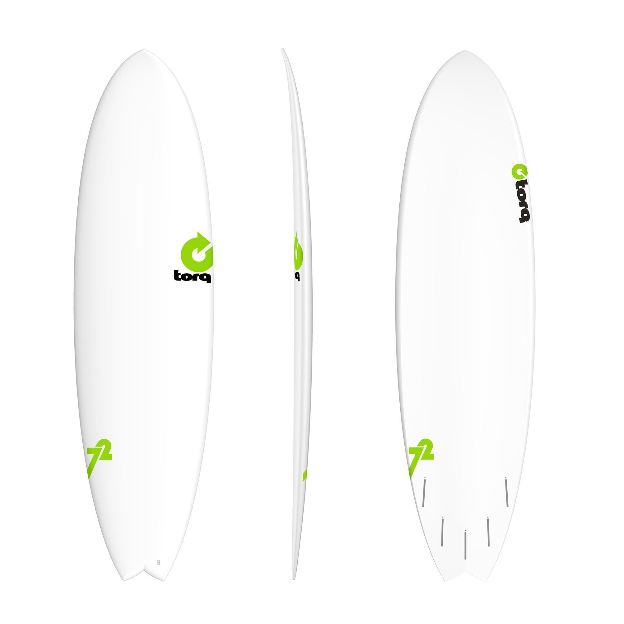 Surfboard TORQ Epoxy TET RENTAL 7.2 MOD Fish
