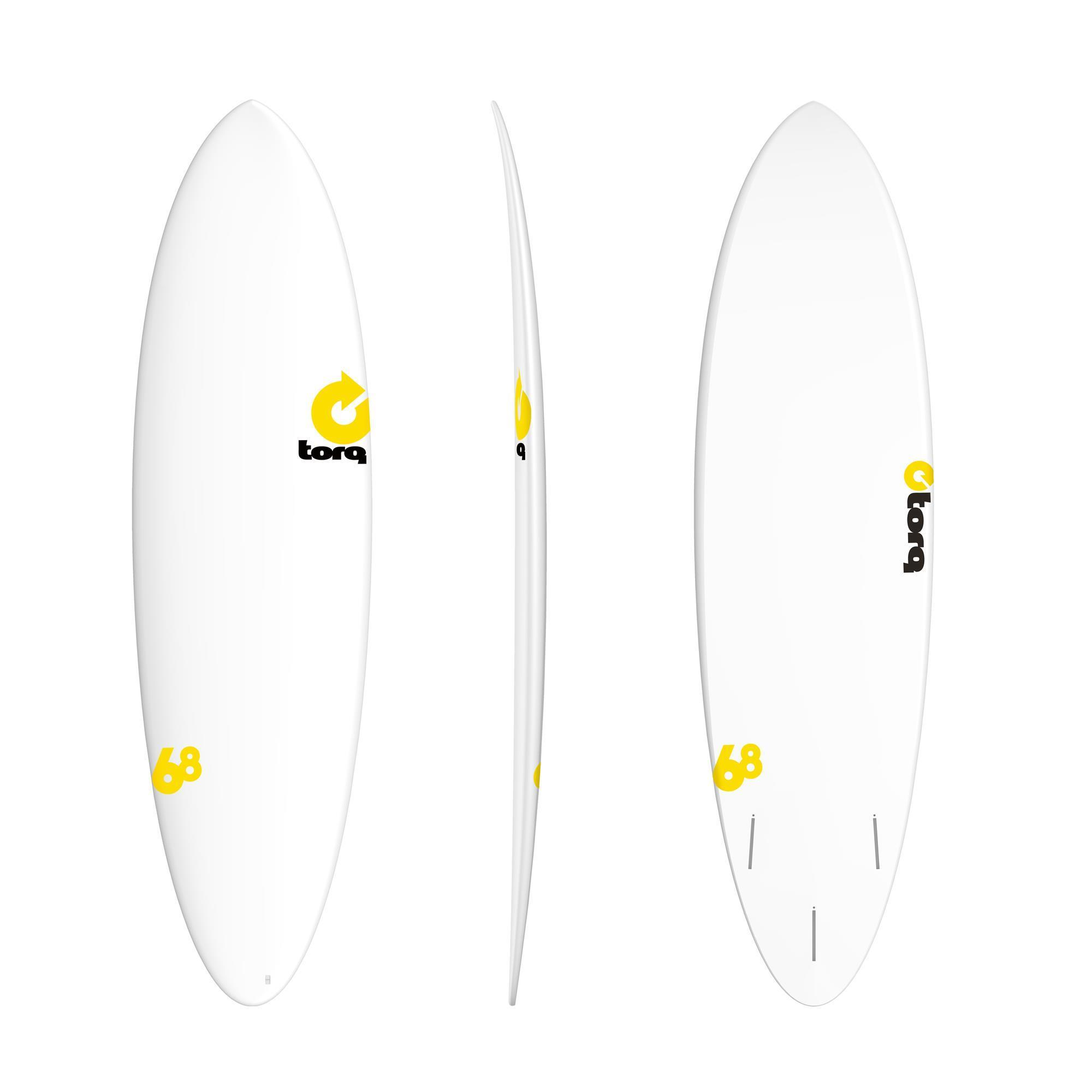 Surfboard TORQ Epoxy TET CS 6.8 Fun RENTAL
