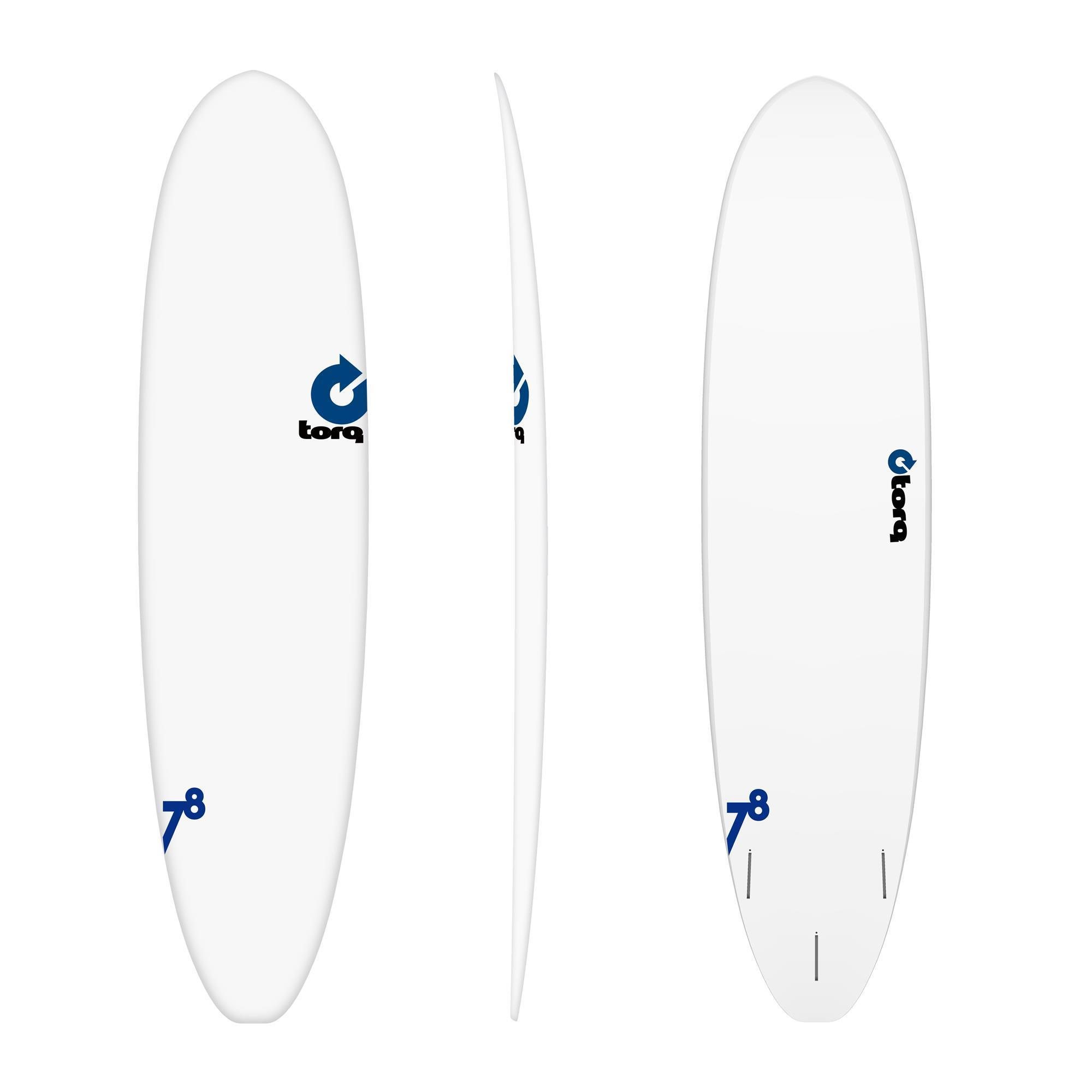Surfboard TORQ Epoxy TET 7.8 VP Fun RENTAL