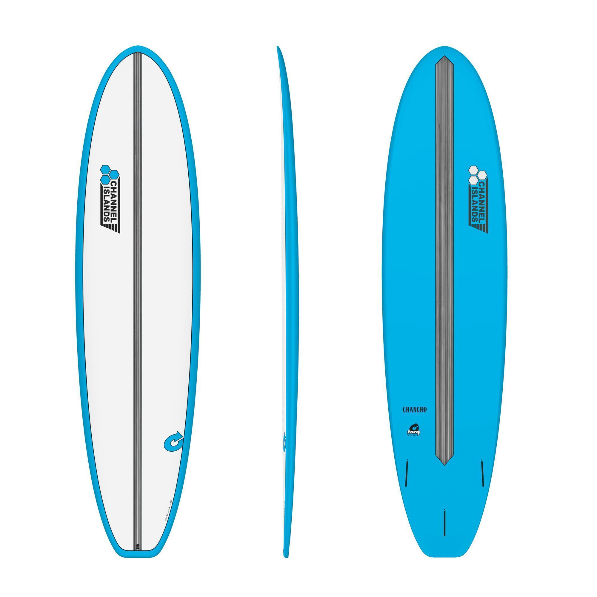Surfboard CHANNEL ISLANDS X-lite Chancho 7.0 Blau