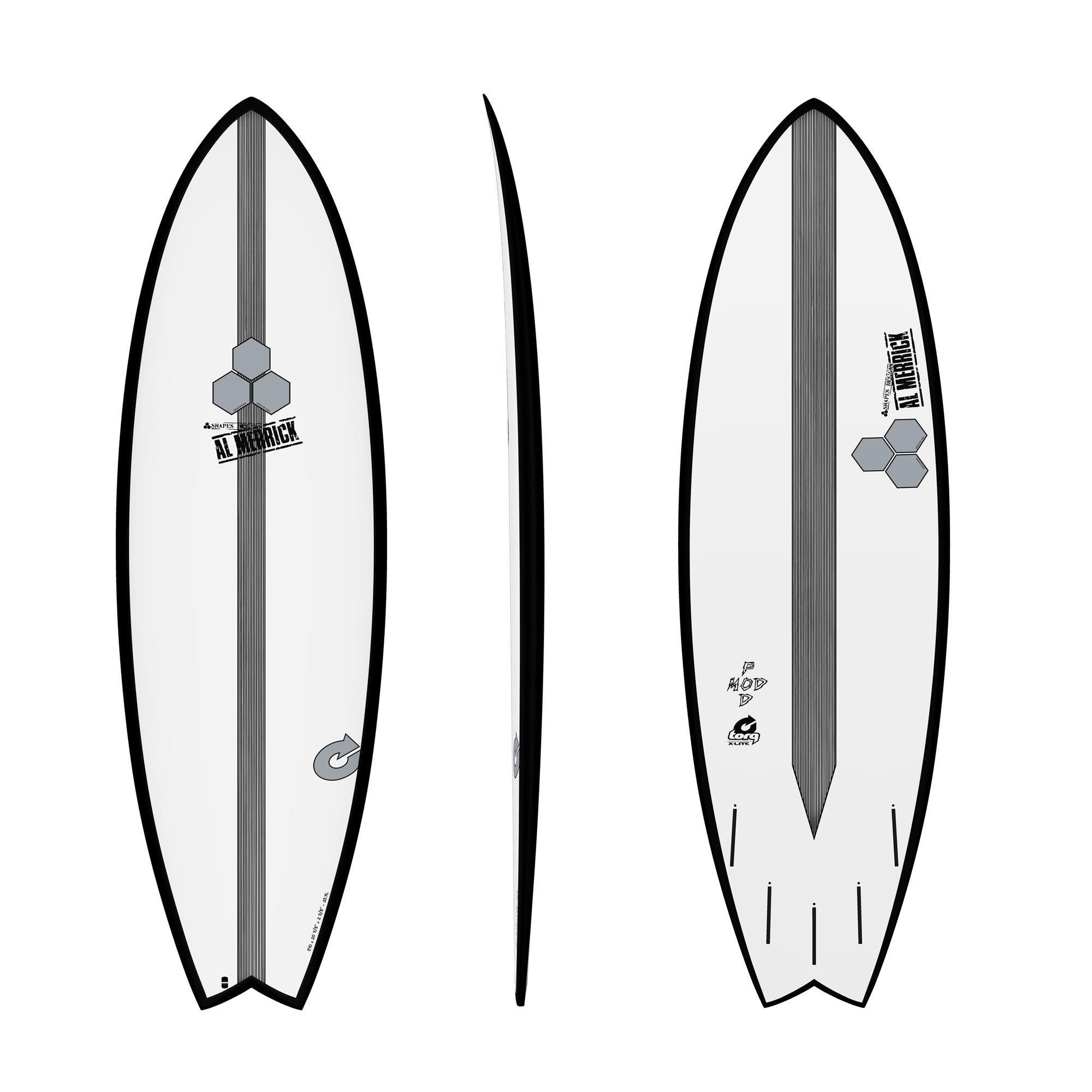 Surfboard CHANNEL ISLANDS X-lite Pod Mod 5.6 black