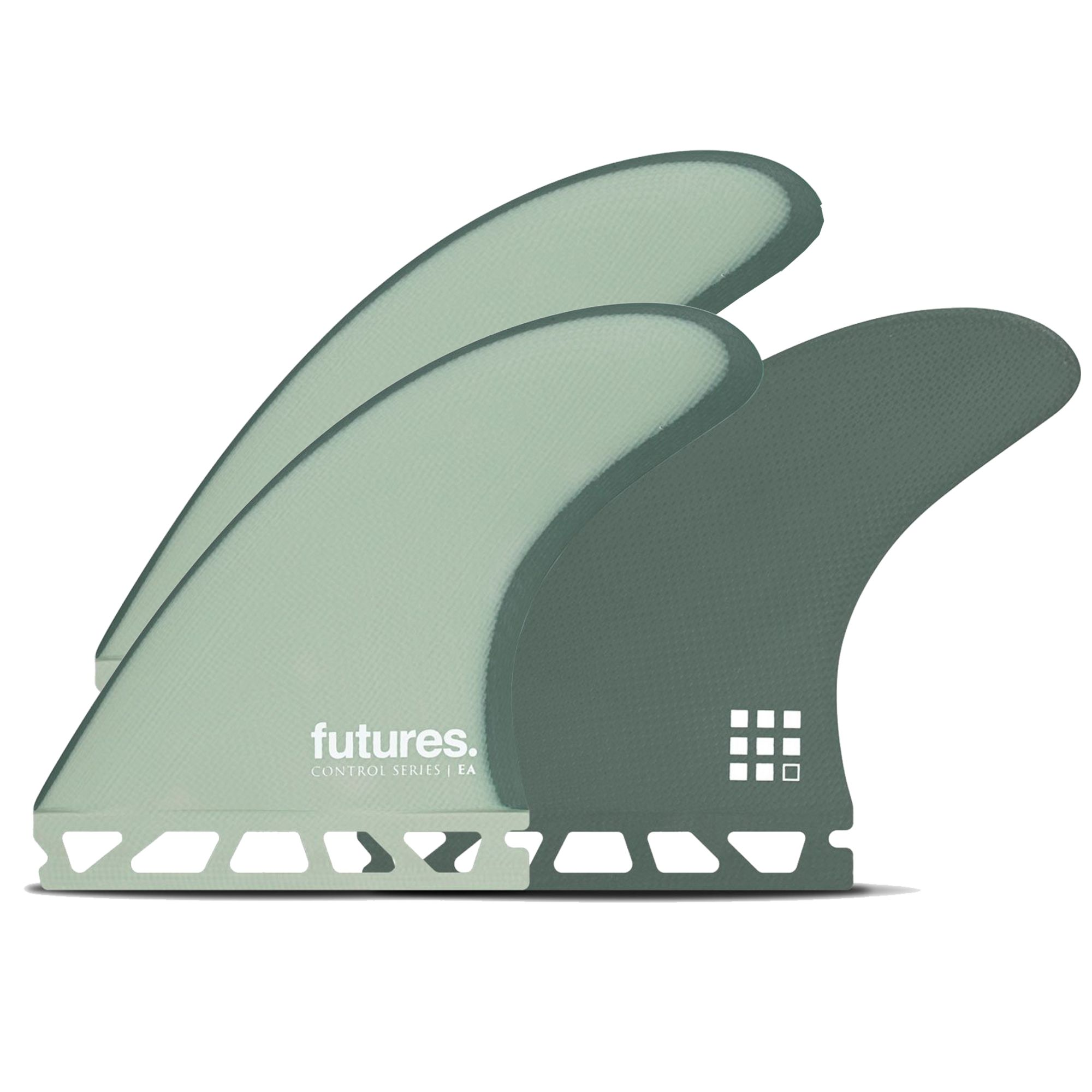 FUTURES Thruster Fin Set EA Eric Arakawa Control New March 2020