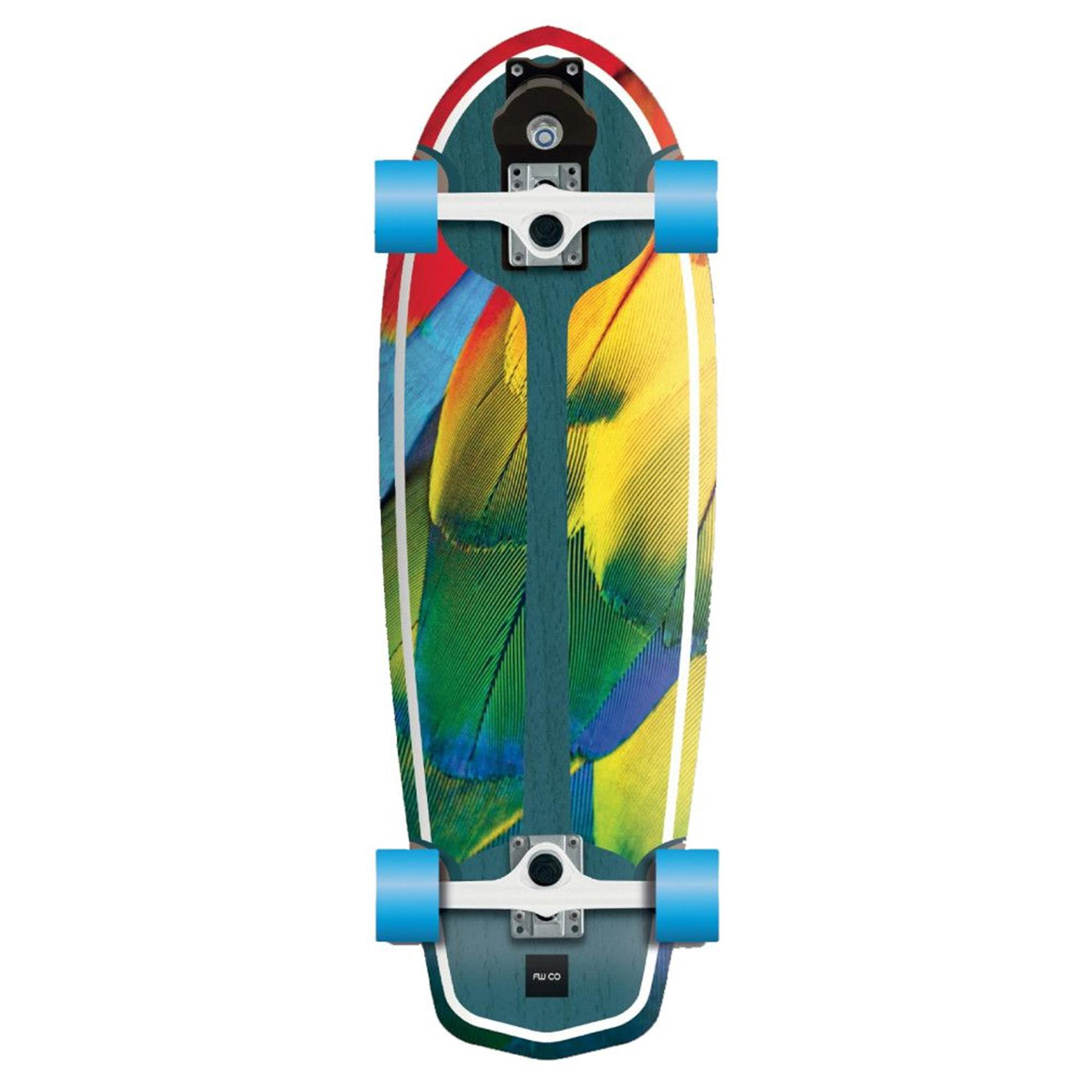 FLYING WHEELS Surf Skateboard 29 Parrot Lombard Surfskate