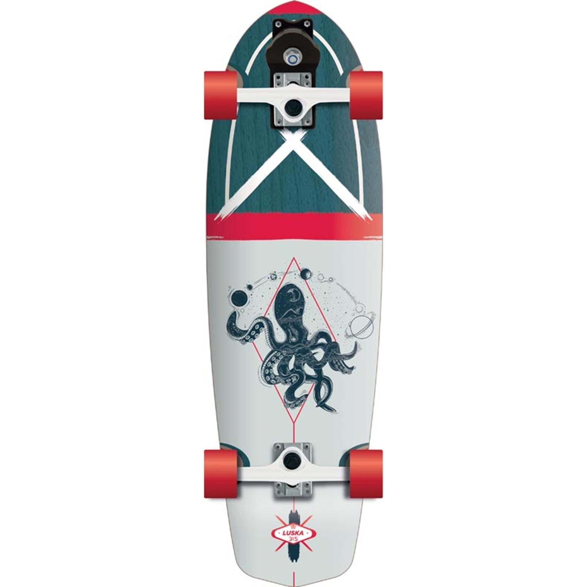 FLYING WHEELS Surf Skateboard 31,5 Luska Lombard Surfskate