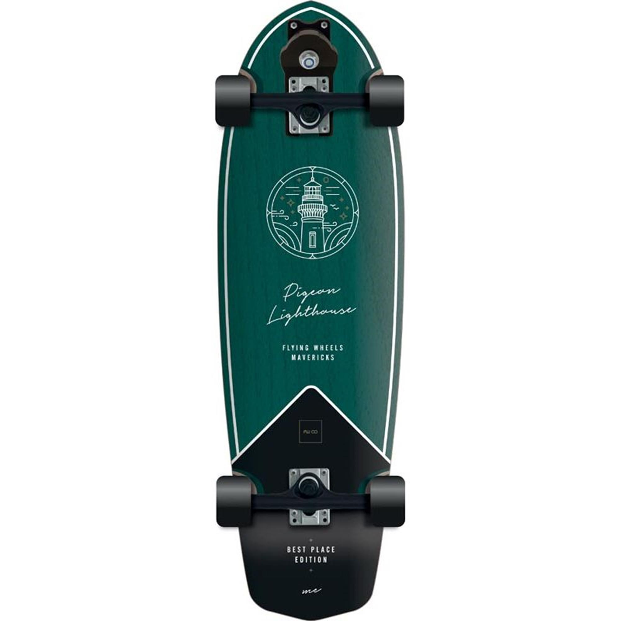 FLYING WHEELS Surf Skateboard 31,5 Pigeon Best Place Edition