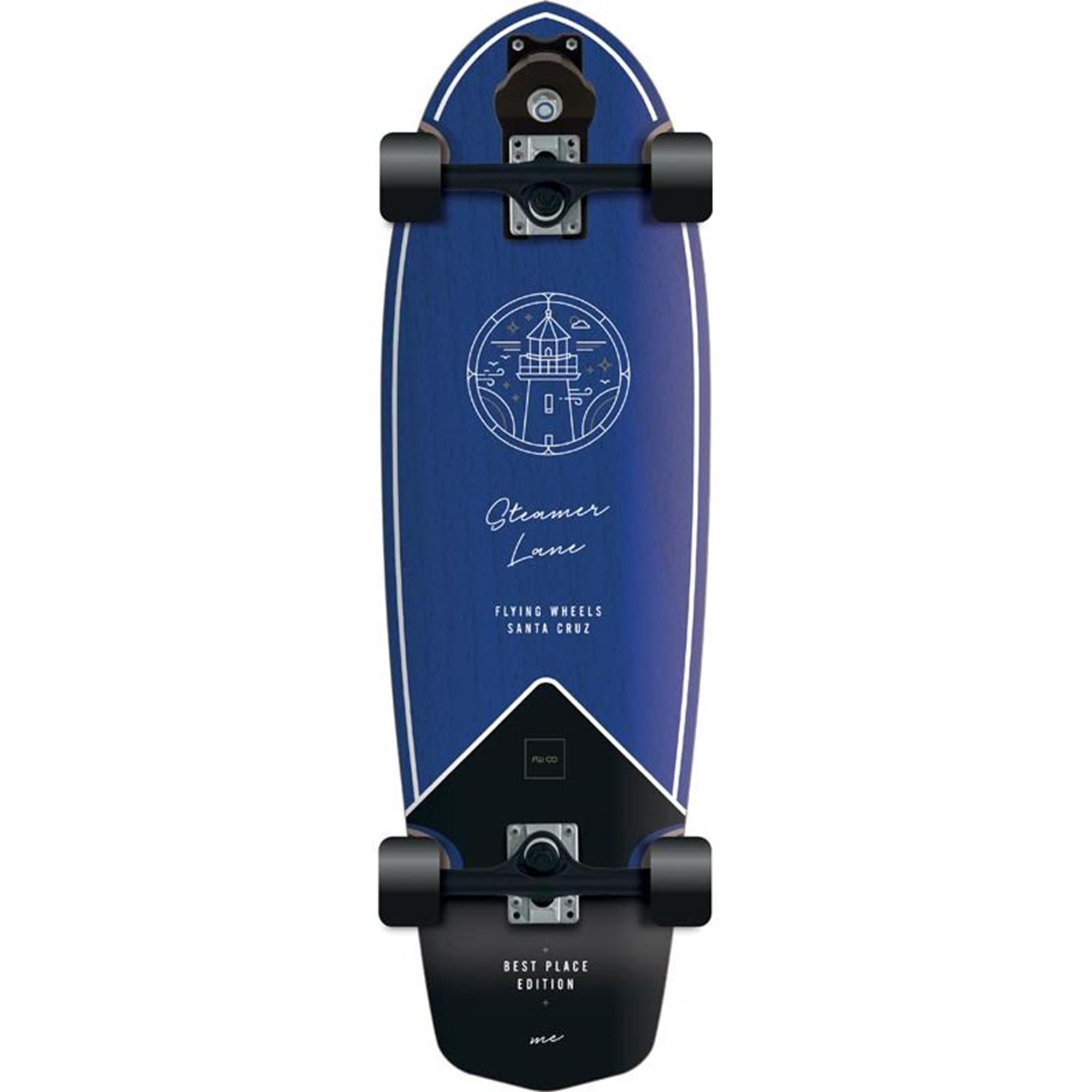 FLYING WHEELS Surf Skateboard 31,5 Lane Best Place Edition