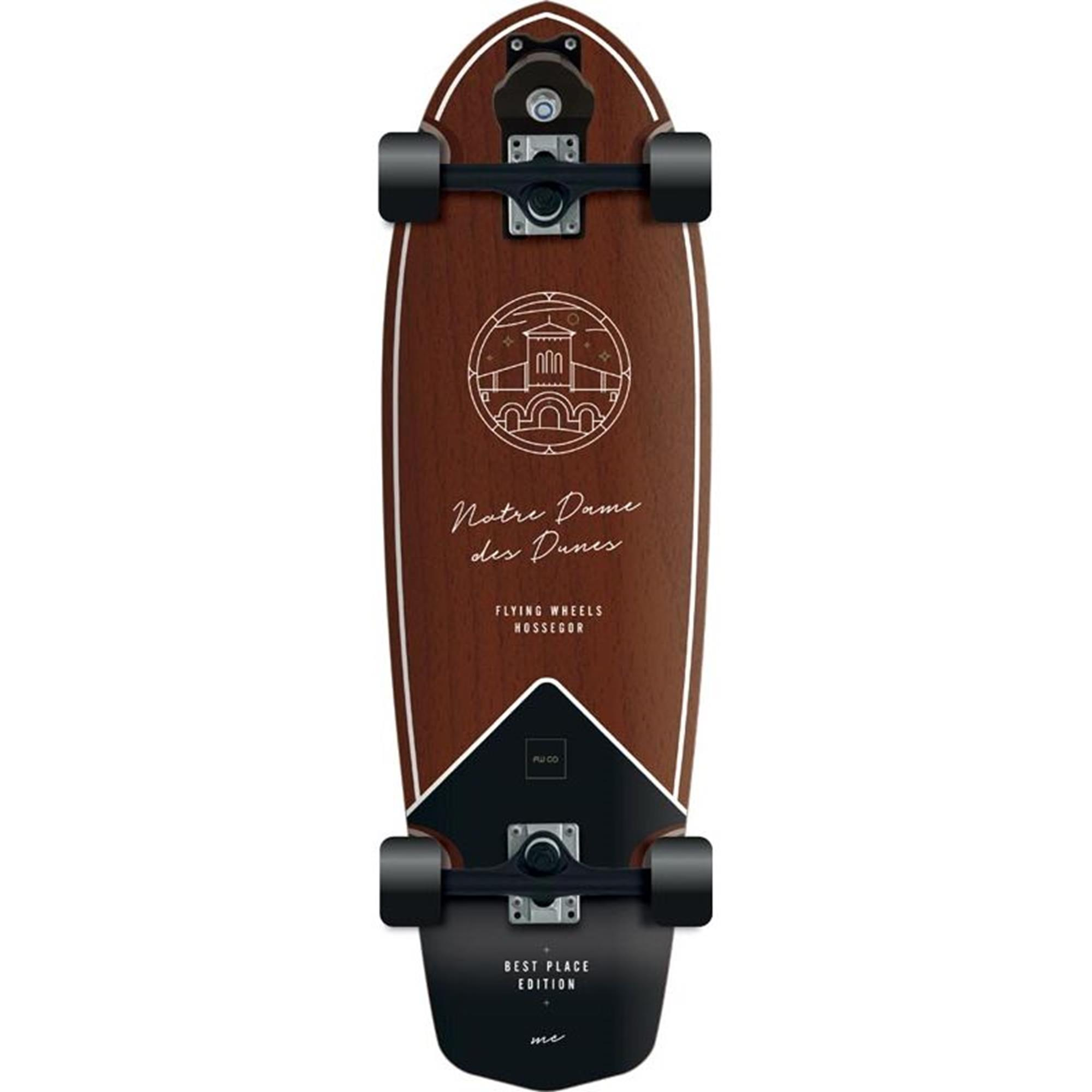FLYING WHEELS Surf Skateboard 31,5 Dune Best Place Edition