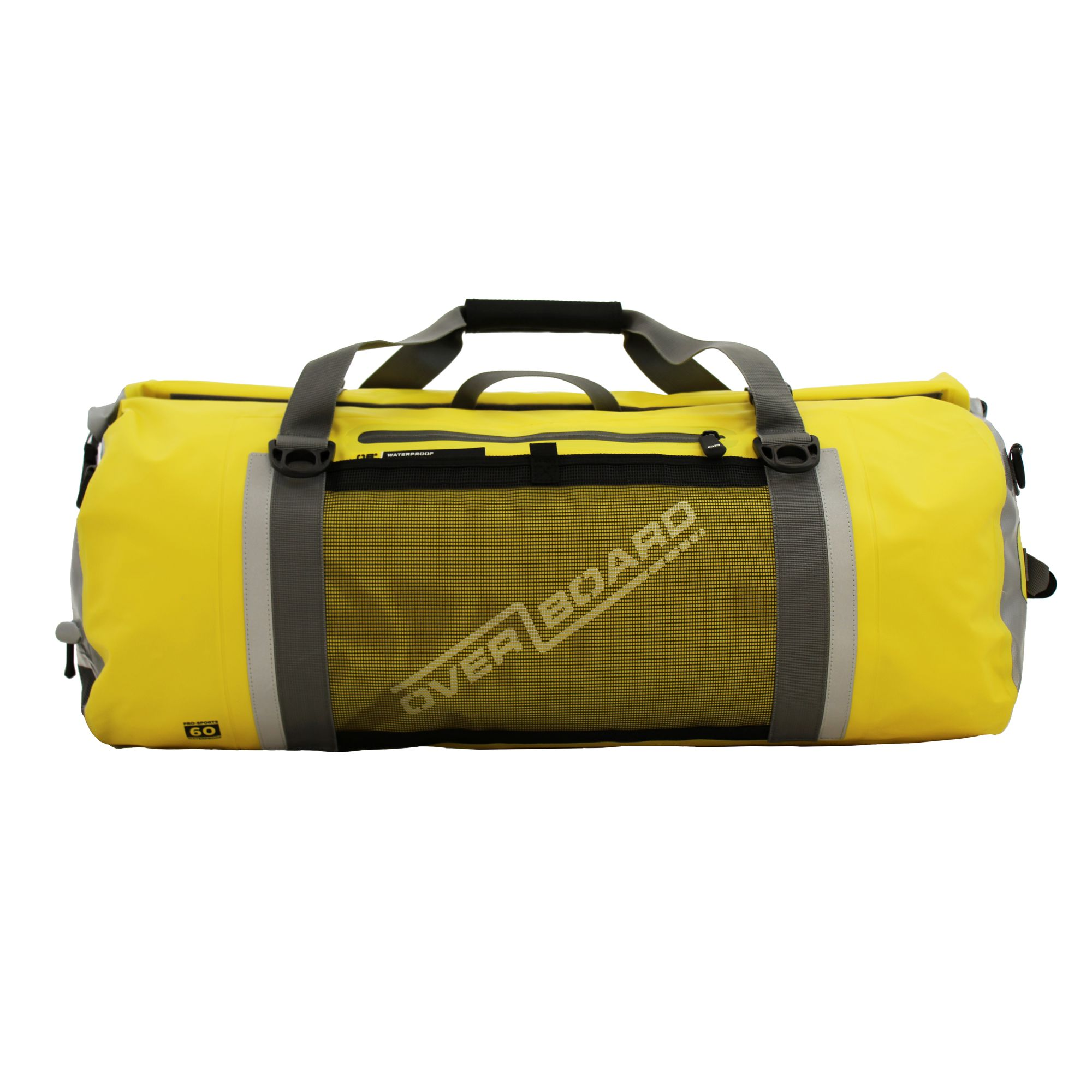 OverBoard wasserdichte Duffel Bag Sports 60 L Gelb OB1154Y  Pro Sports