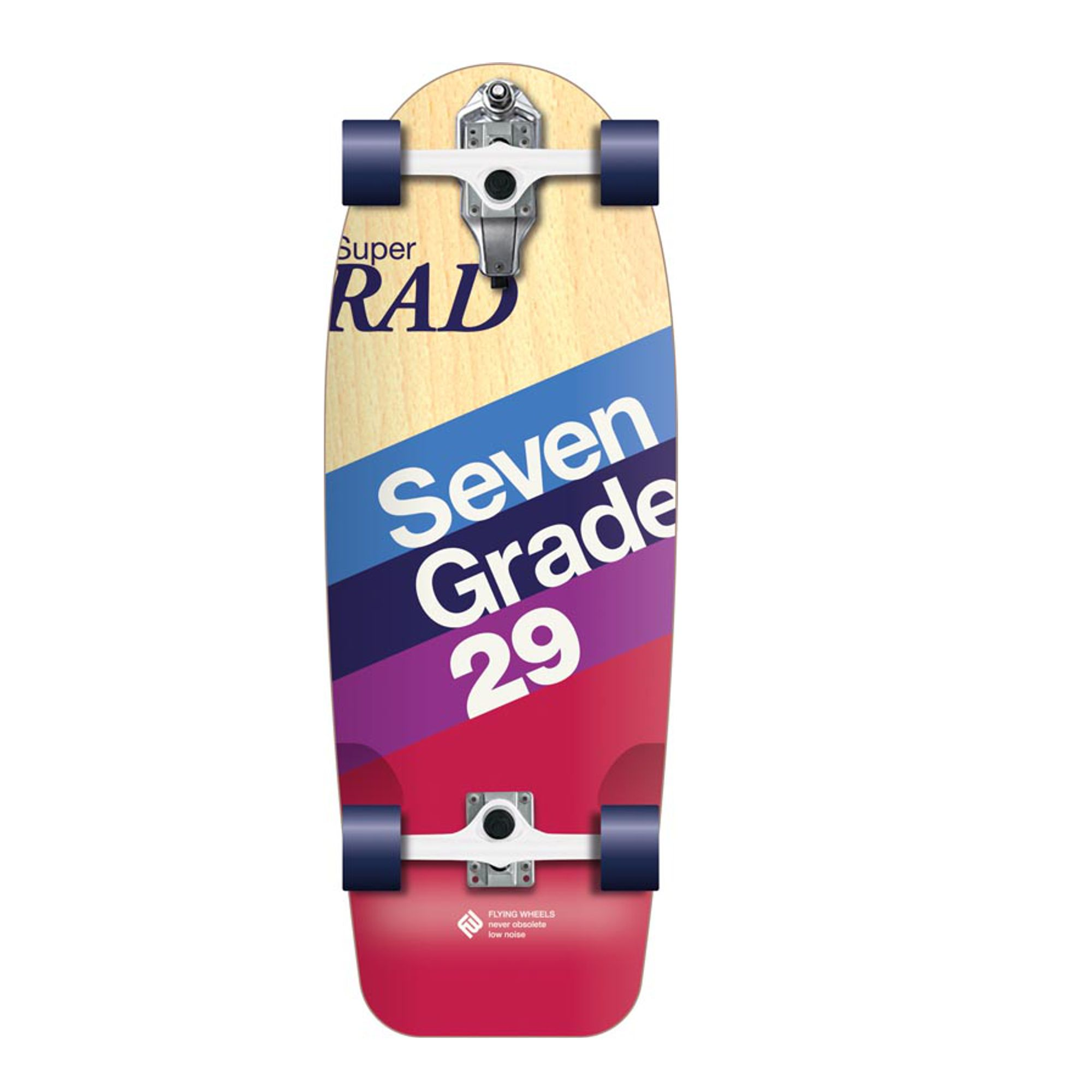 FLYING WHEELS Surf Skateboard 29 Rad Lombard Surfskate
